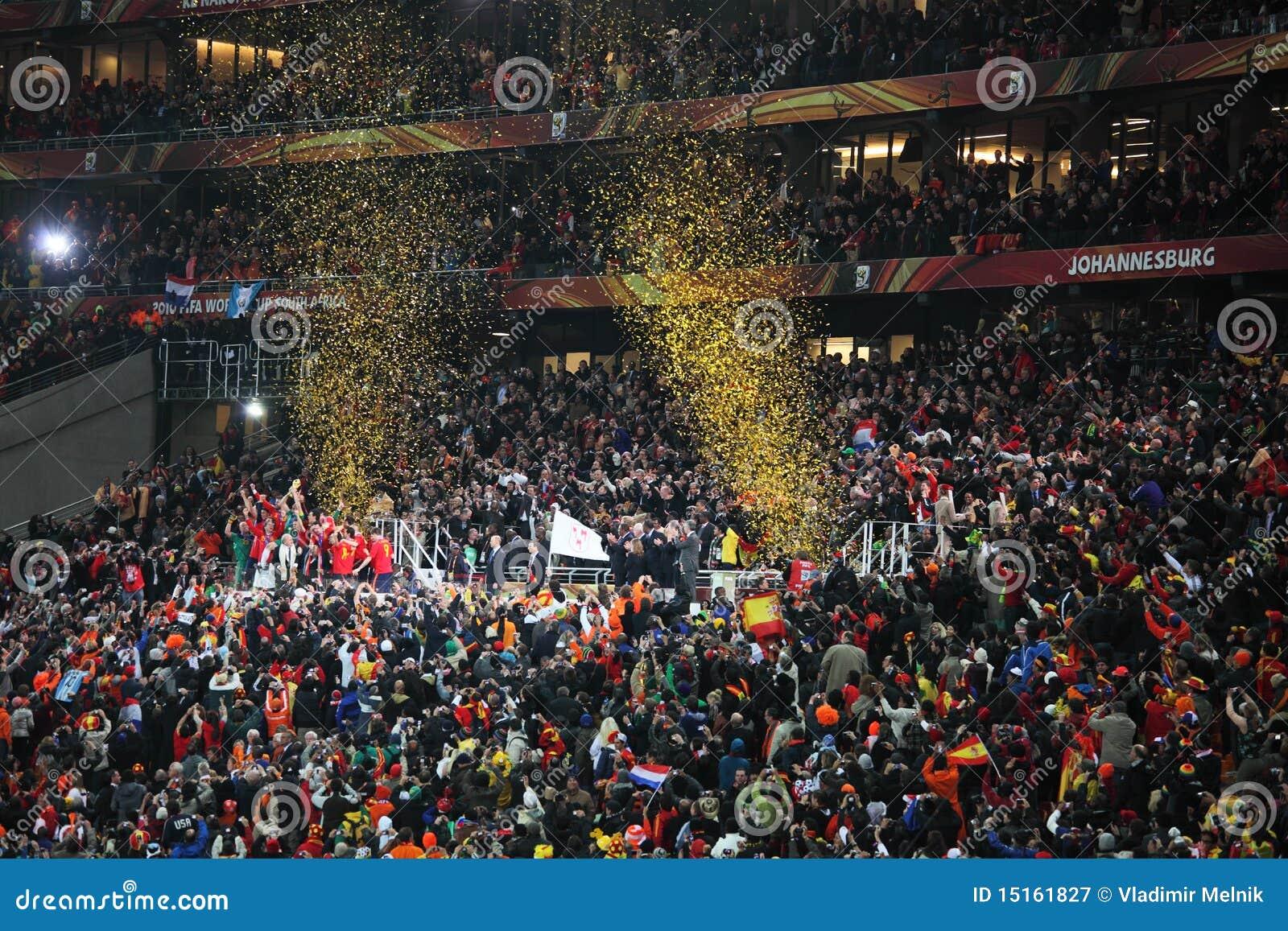 Final at Soccer City Stadium