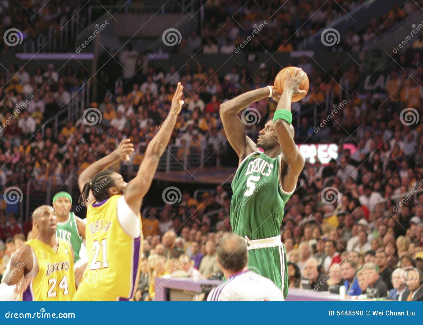Finales de Celtics de NBA Lakers