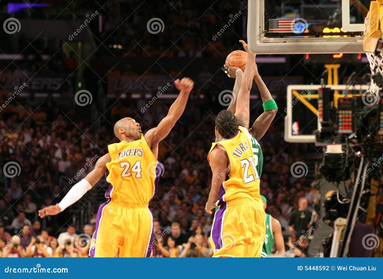 Finali dei Celtics di NBA Lakers