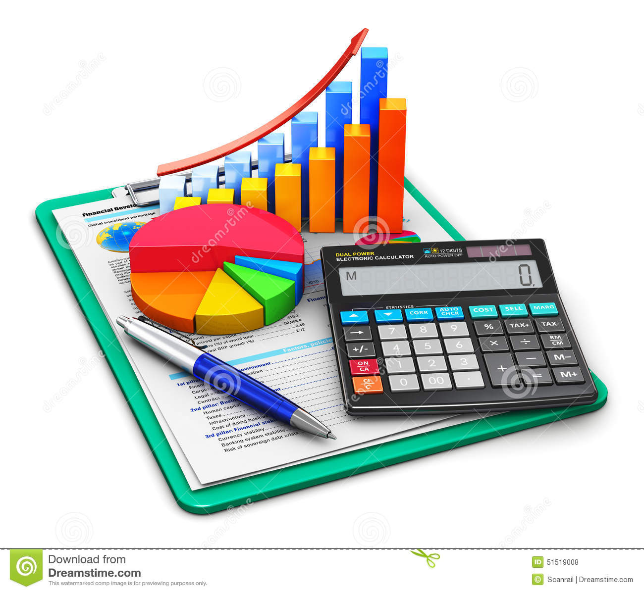 Finance: Finance And Accounting Concept Stock Illustration