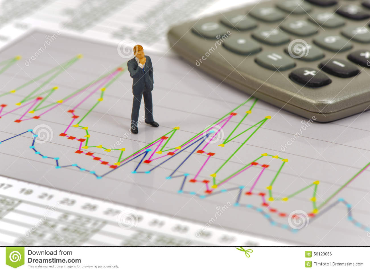 finance and budget calculation stock photo image of diagram