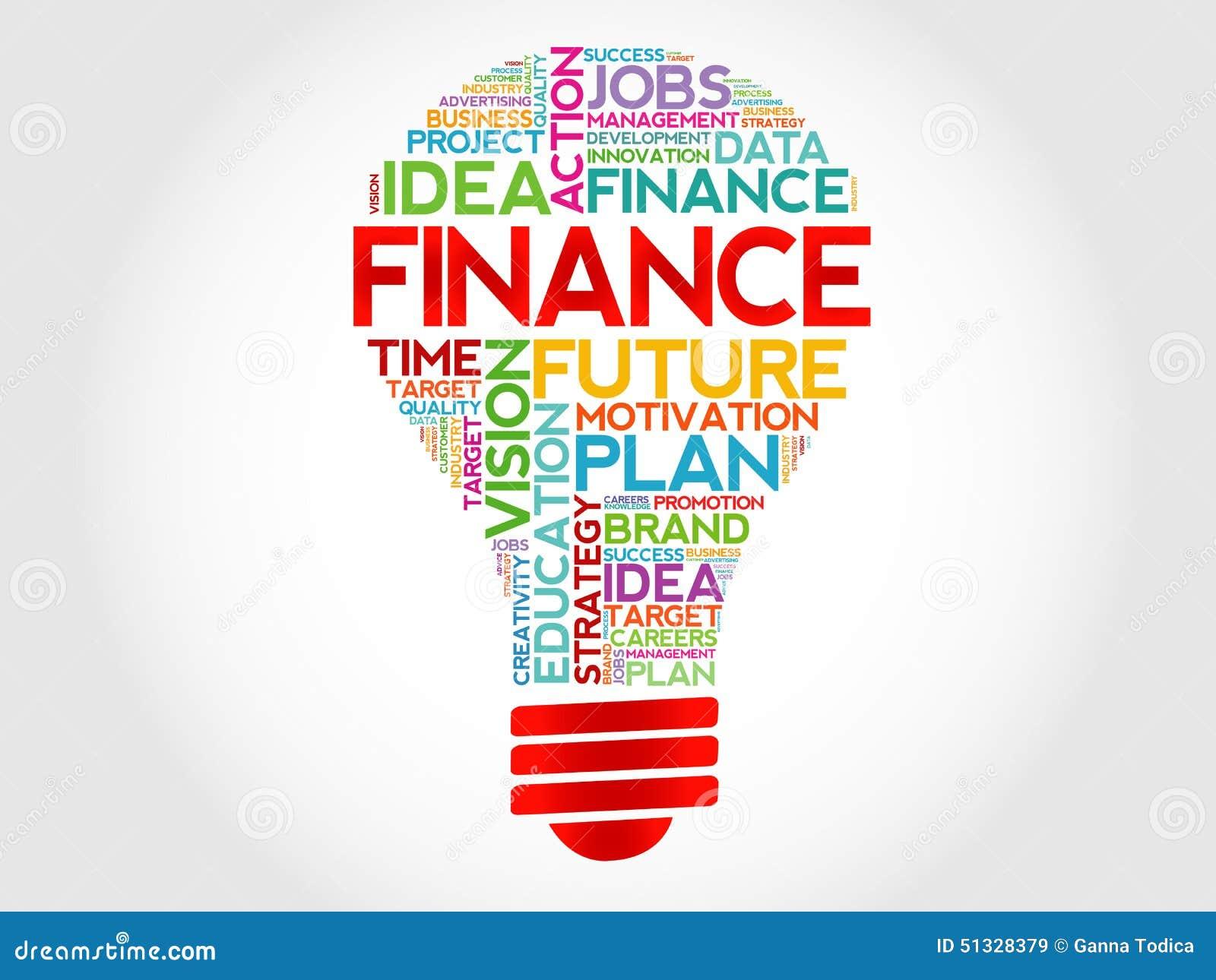 Finance Bulb Stock Photo Image 51328379