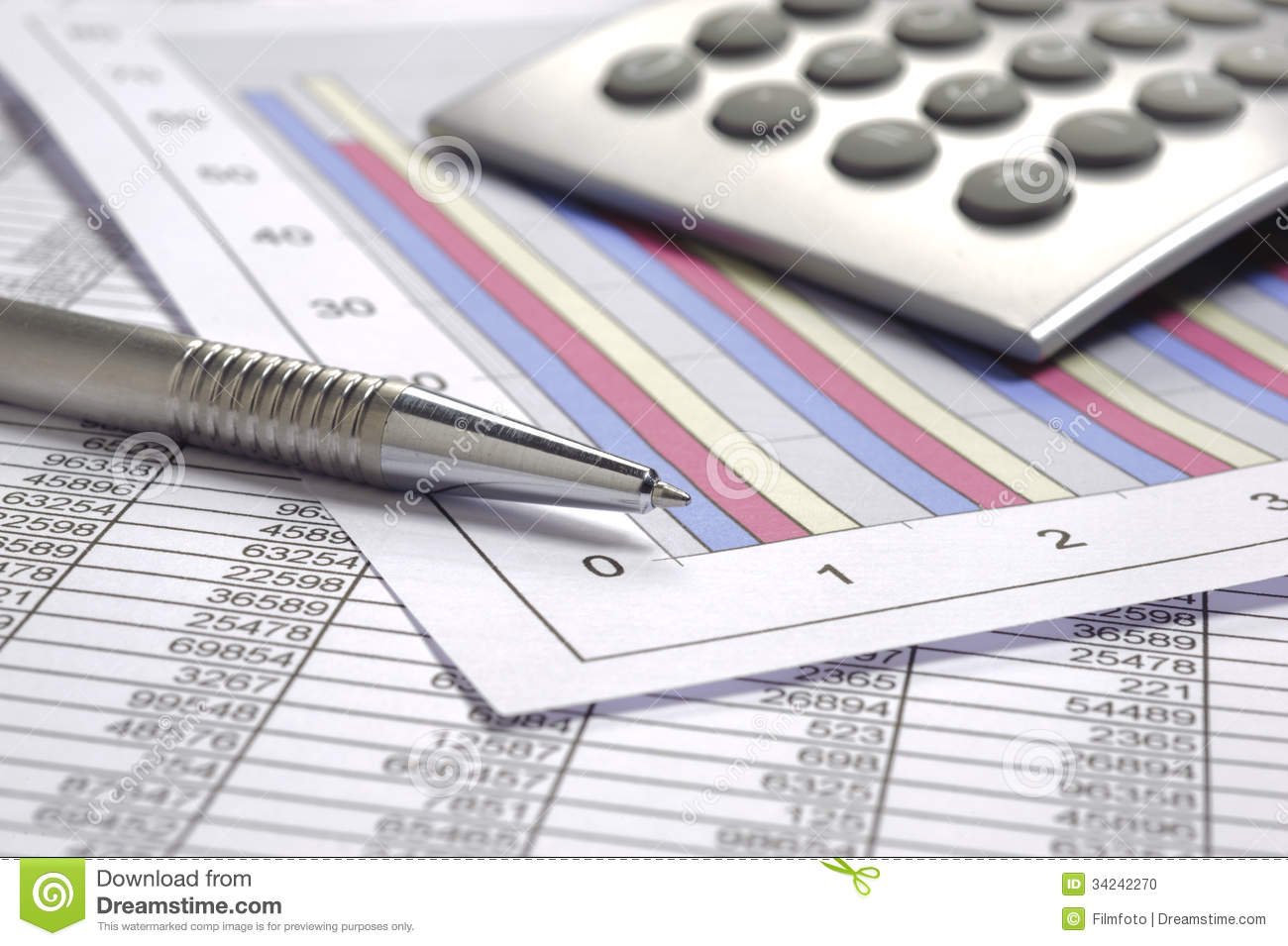 Calculation Business Investment Accounting Banking Budget