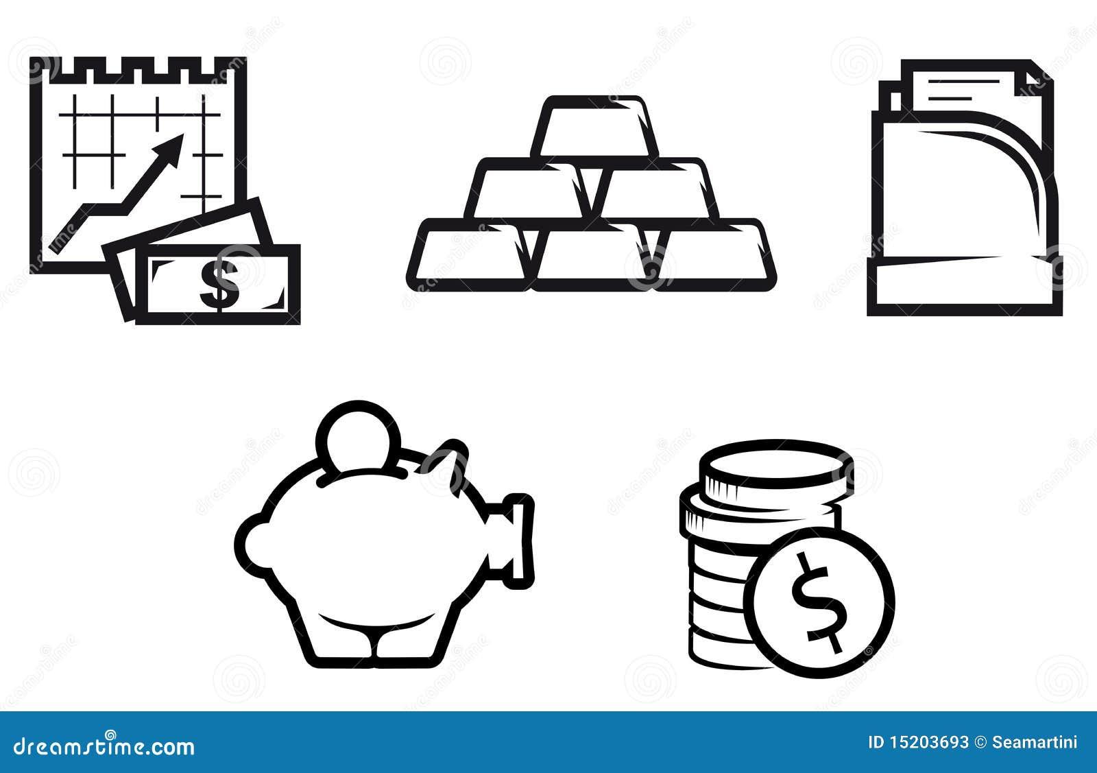 finance and economics symbols stock photos