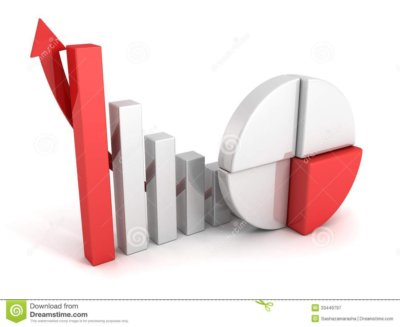 Finance pie and bar chart graphs with growing arrow stock finance pie and bar chart graphs with growing arrow nvjuhfo Gallery