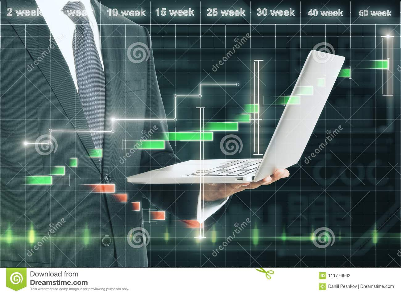 Finance and technology concept