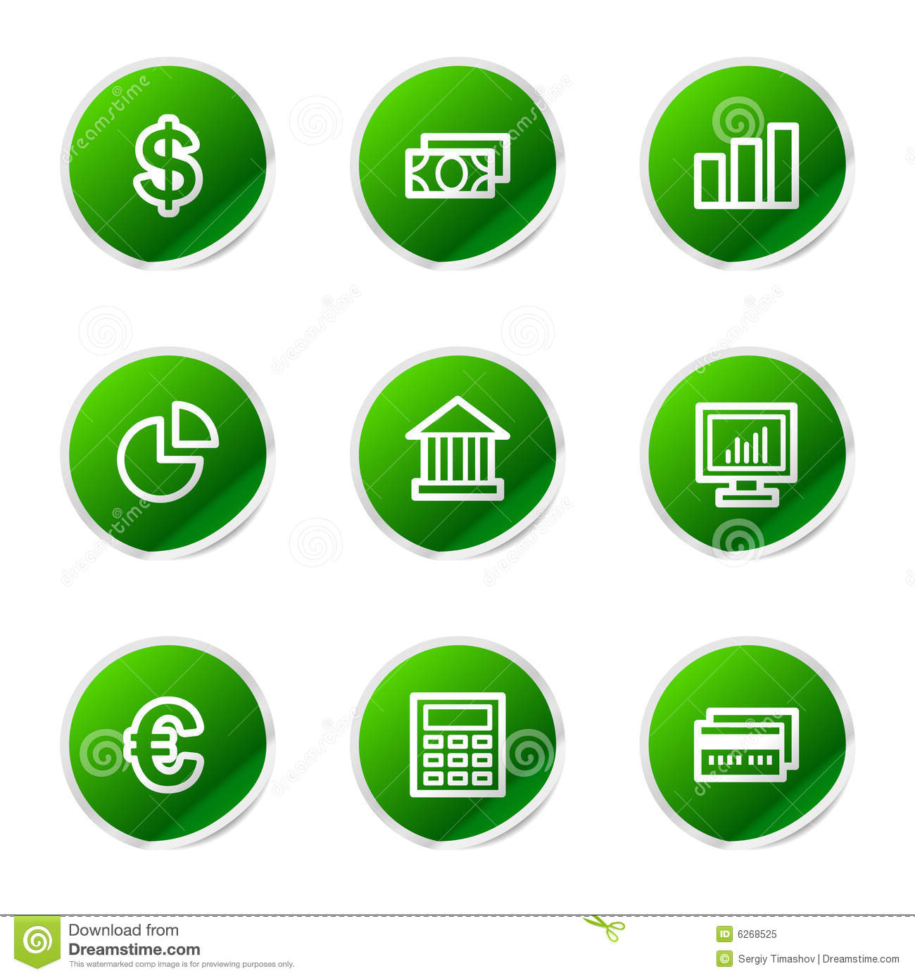Finance web icons stock vector. Illustration of business ...