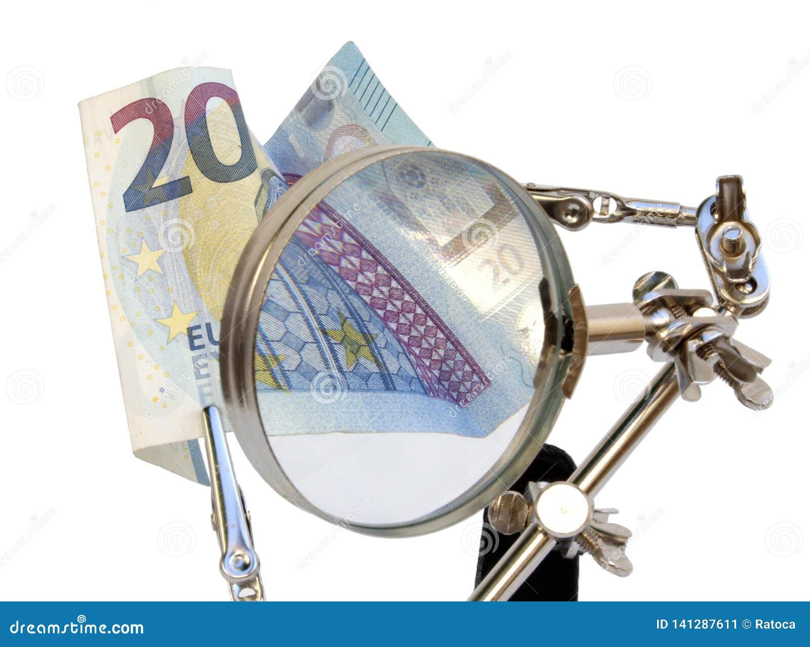 Financiële analyse van Europees geld