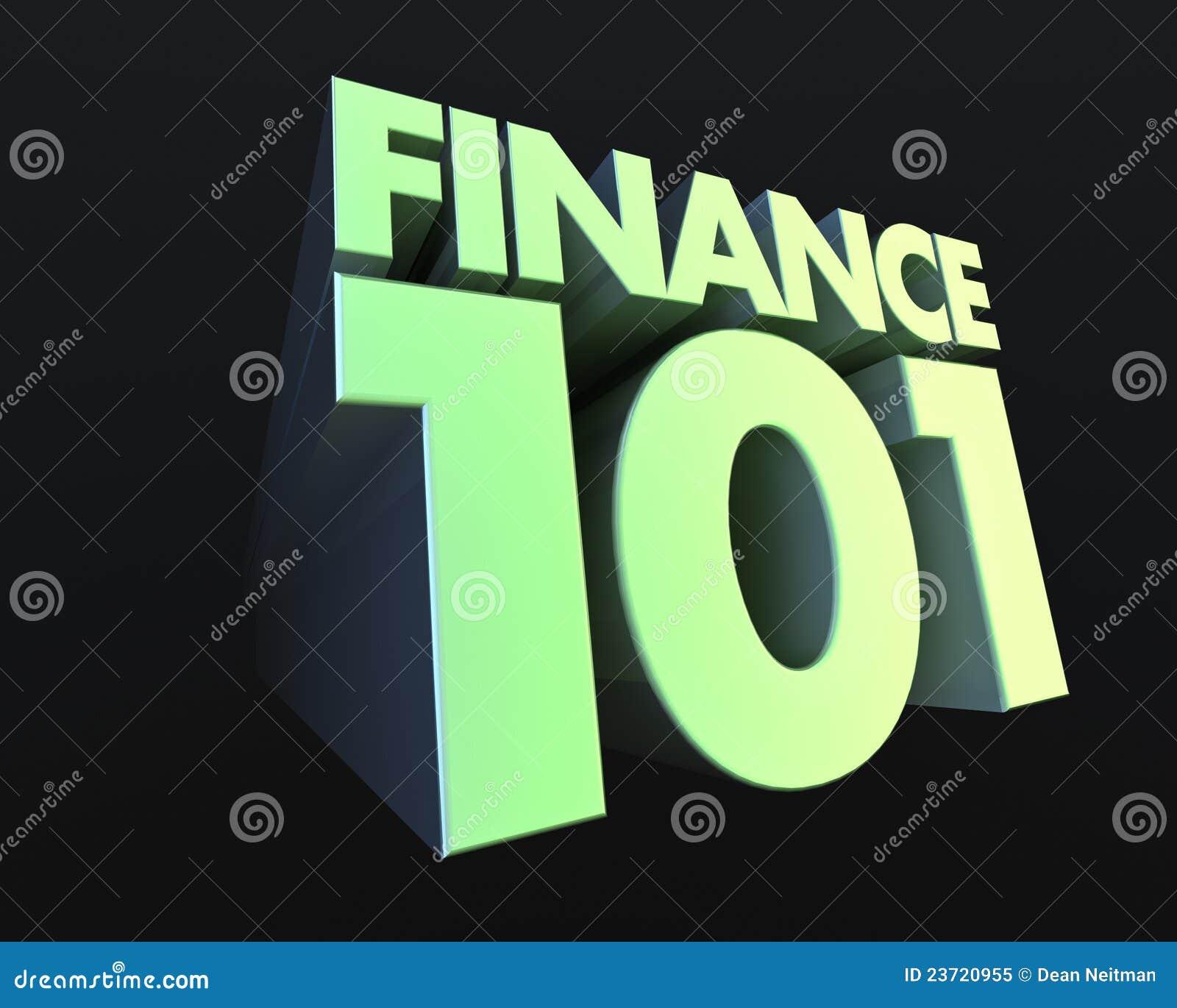 Financiën 101
