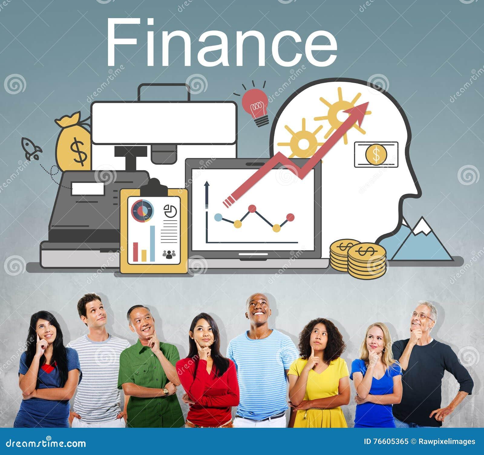 Financiënwinst de Activaconcept van de Financieringsinvestering