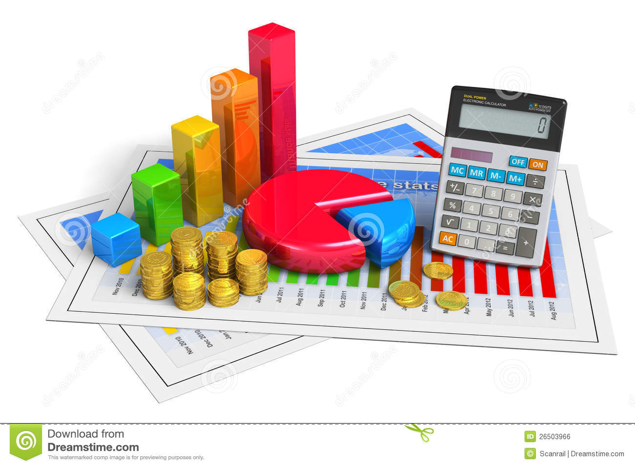 Financial Business Analytics Concept Royalty Free Stock Image ...