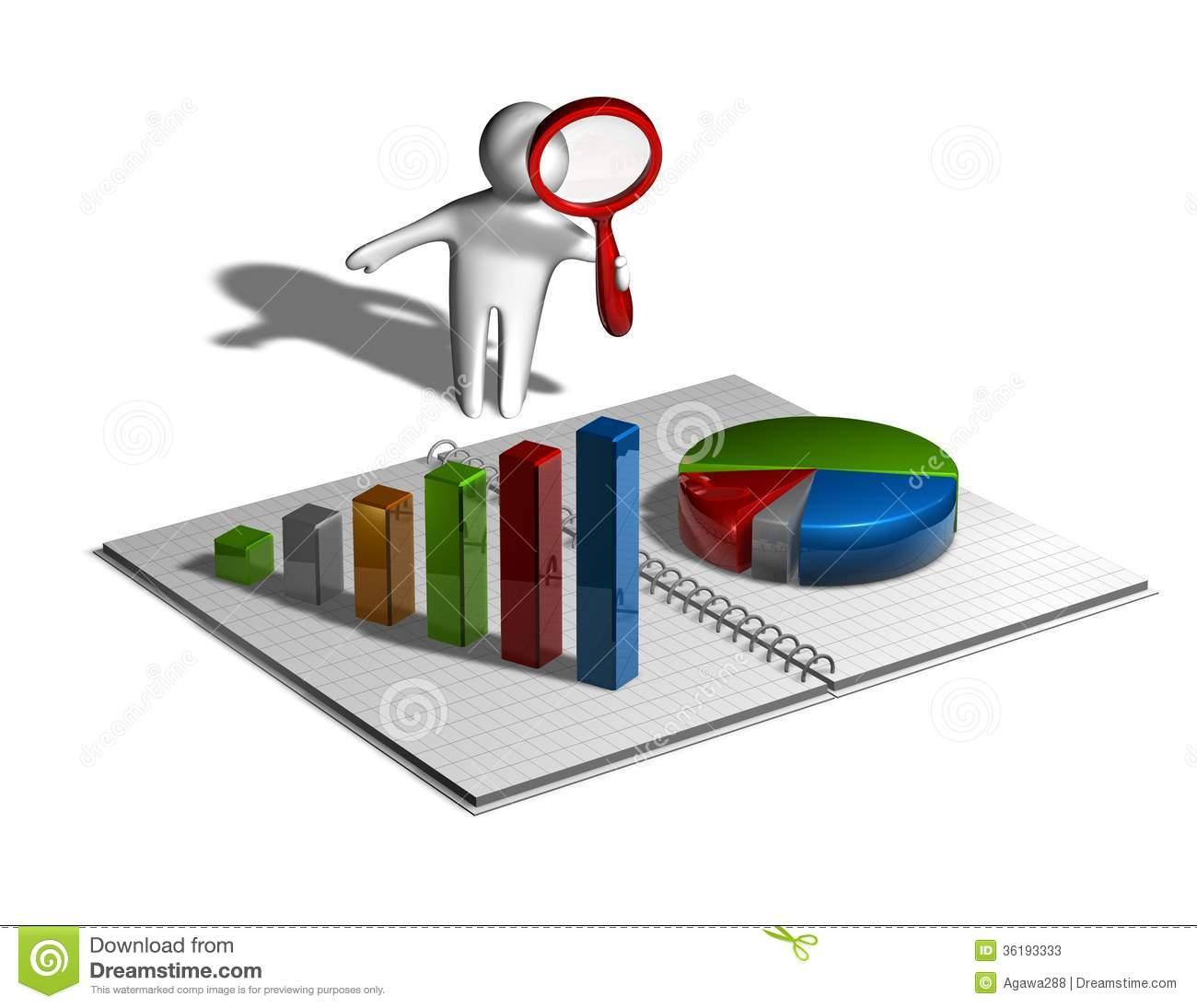 Financial Business Research Concept Stock Photos Image  Financial Business Research Concept Illustration Isolated  Stock Photos Financial Business Research Concept Illustration Isolated Image