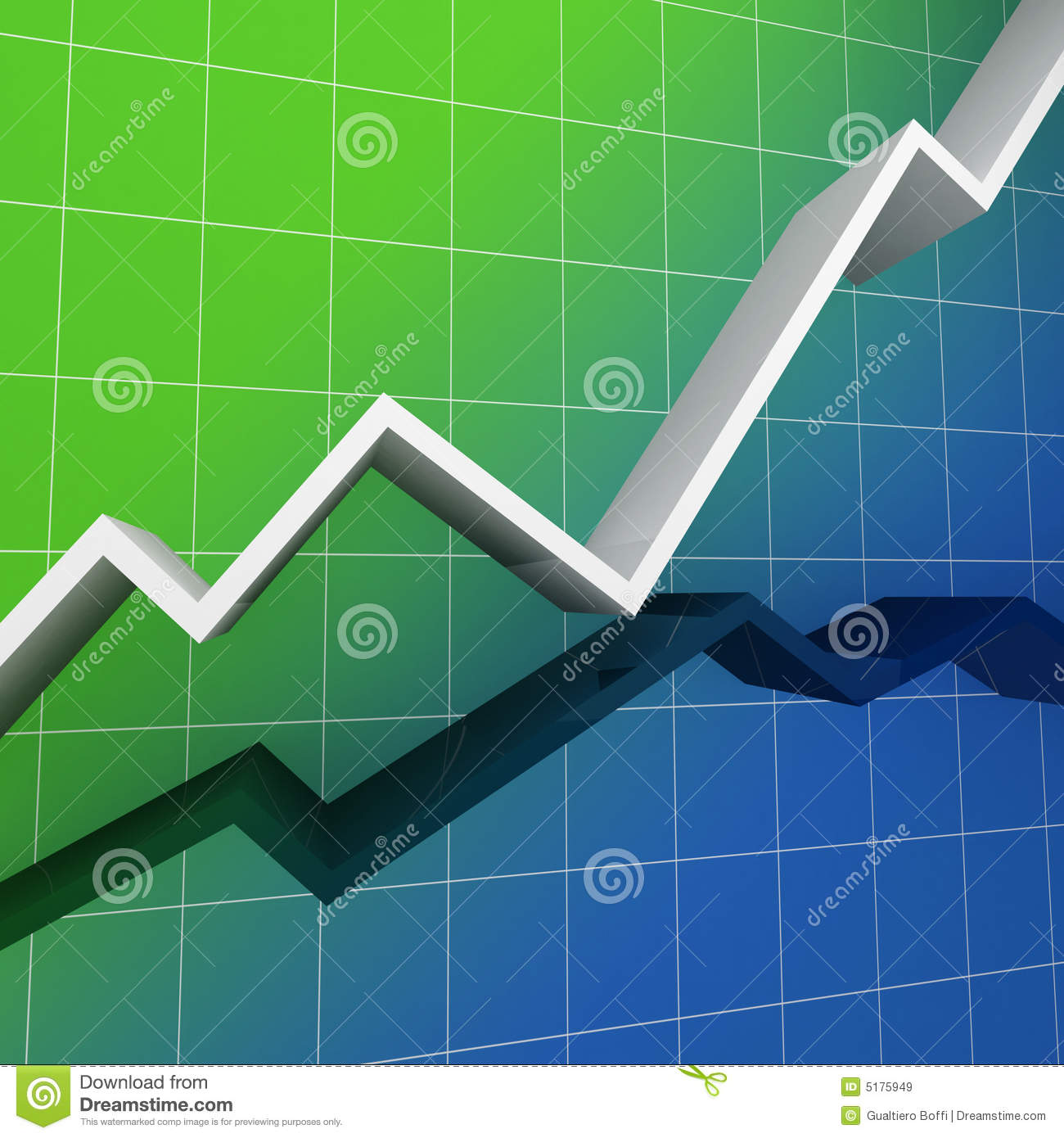 Finance Background: Financial Chart Background Royalty Free Stock Images