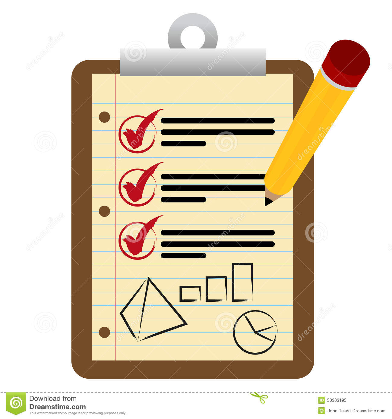 financial checklist clipboard