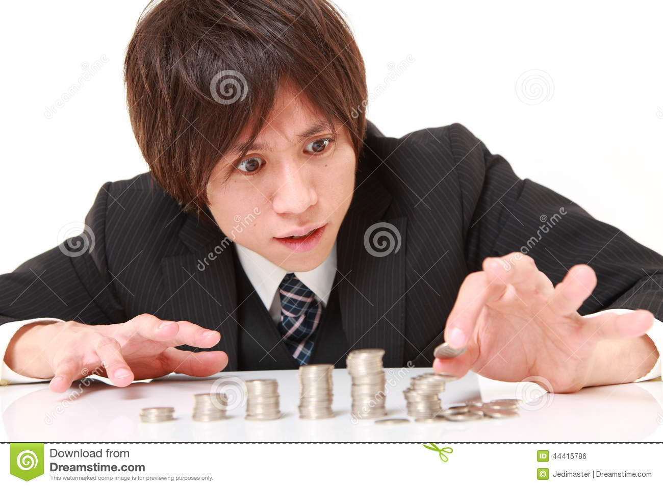 Stock photo financial collapse