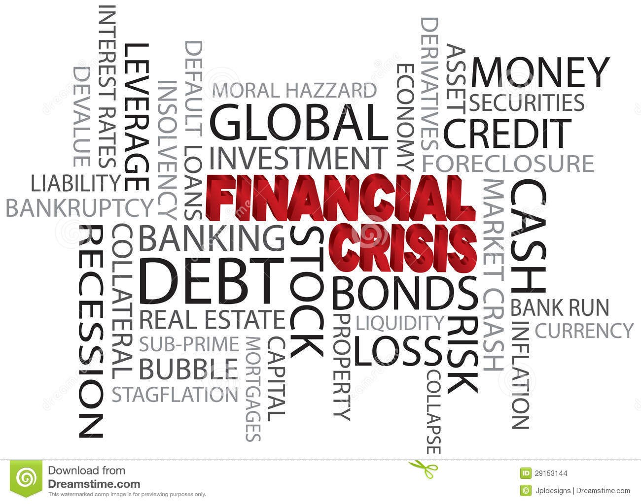 background to the global financial crisis
