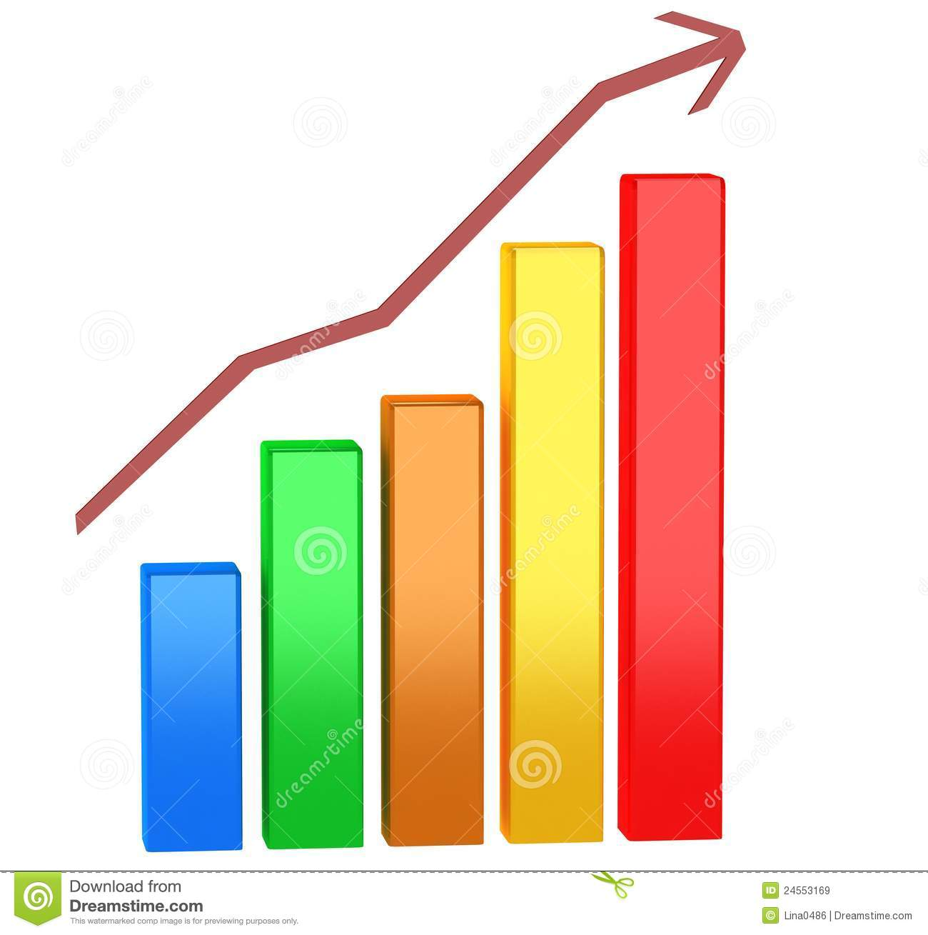 Finance Graph: Financial Graph Royalty Free Stock Images