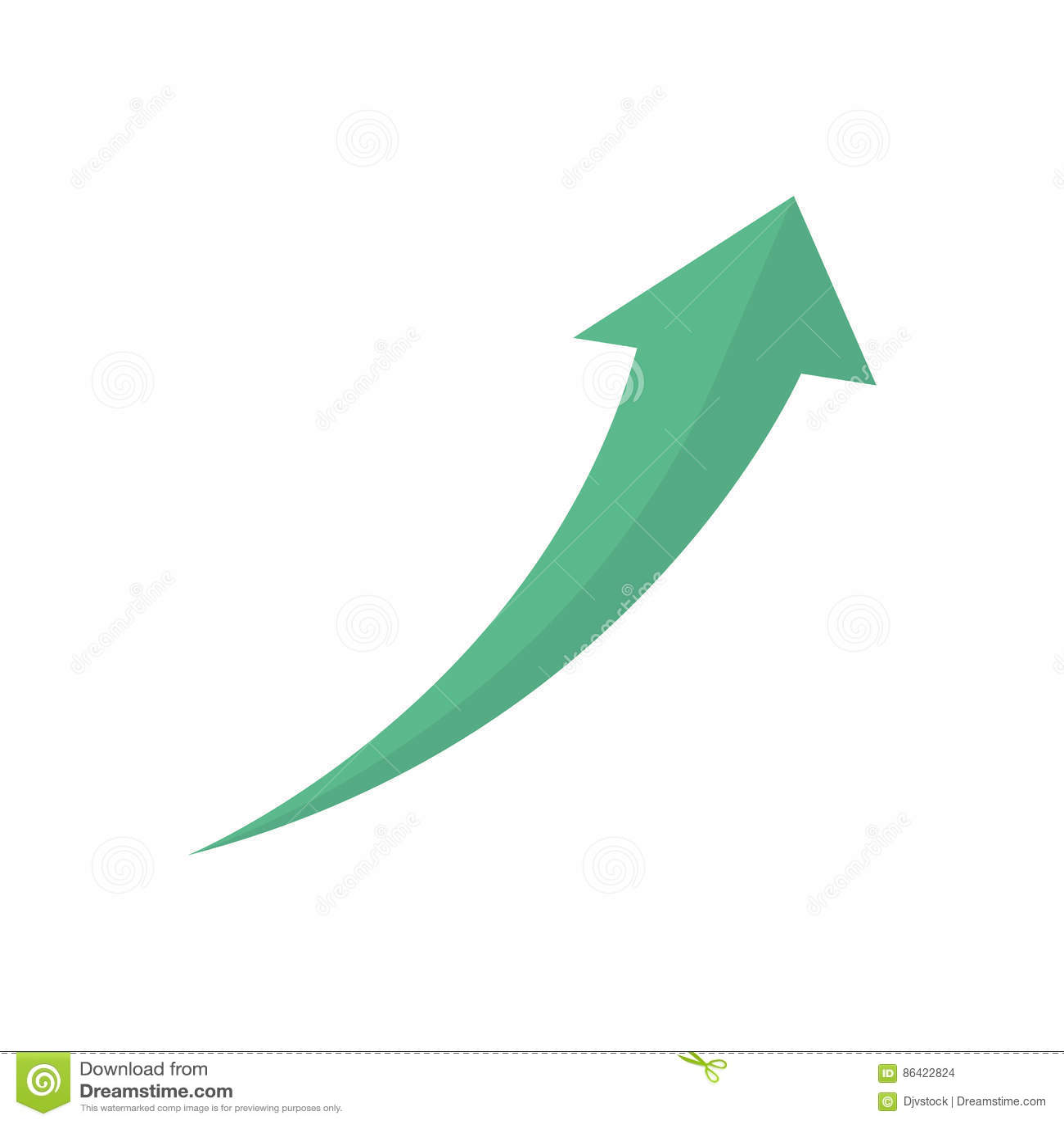 Financial Growth Symbol Stock Illustration Illustration Of Increase