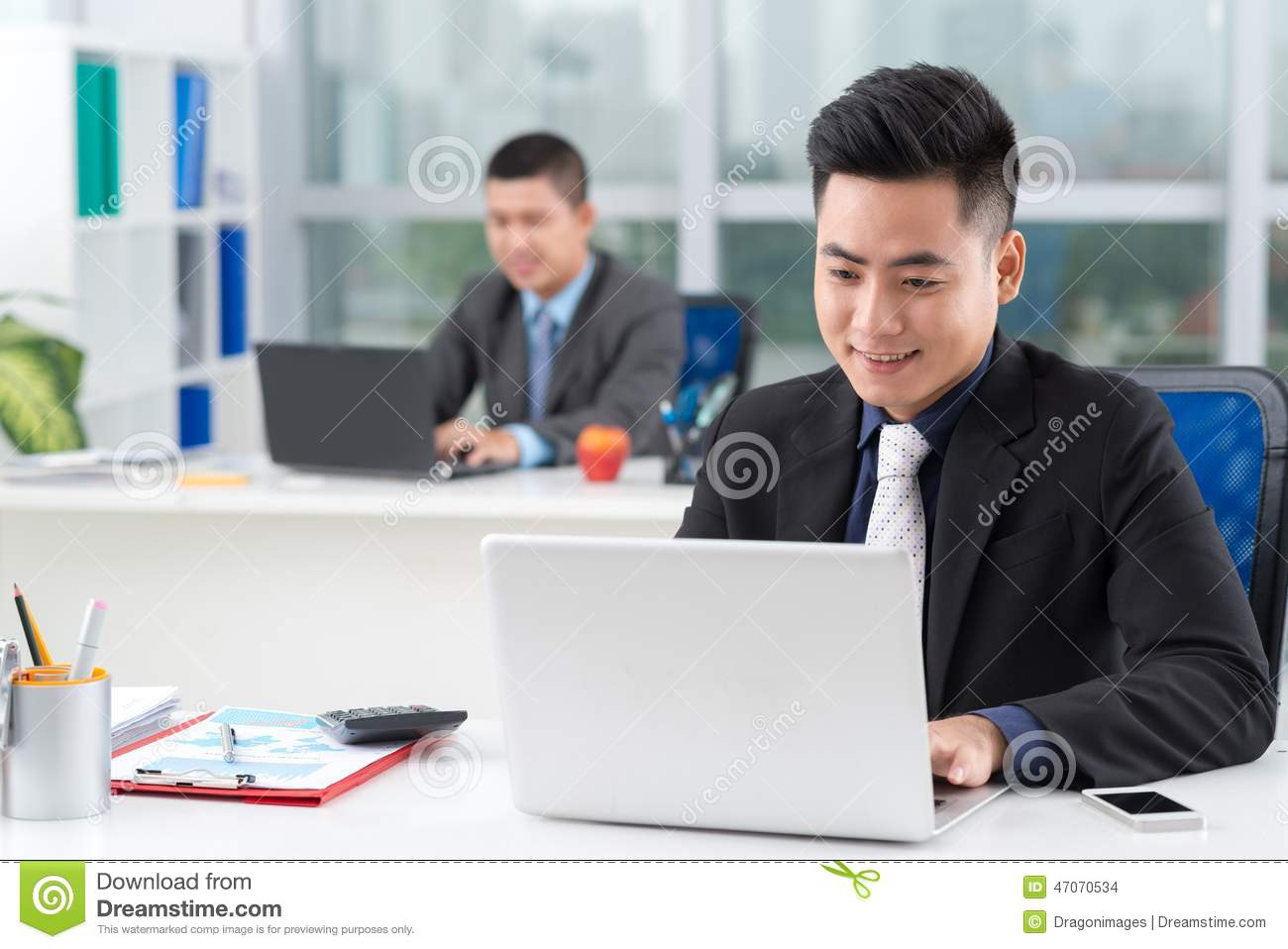 Financial Manager Stock Photo - Image: 47070534