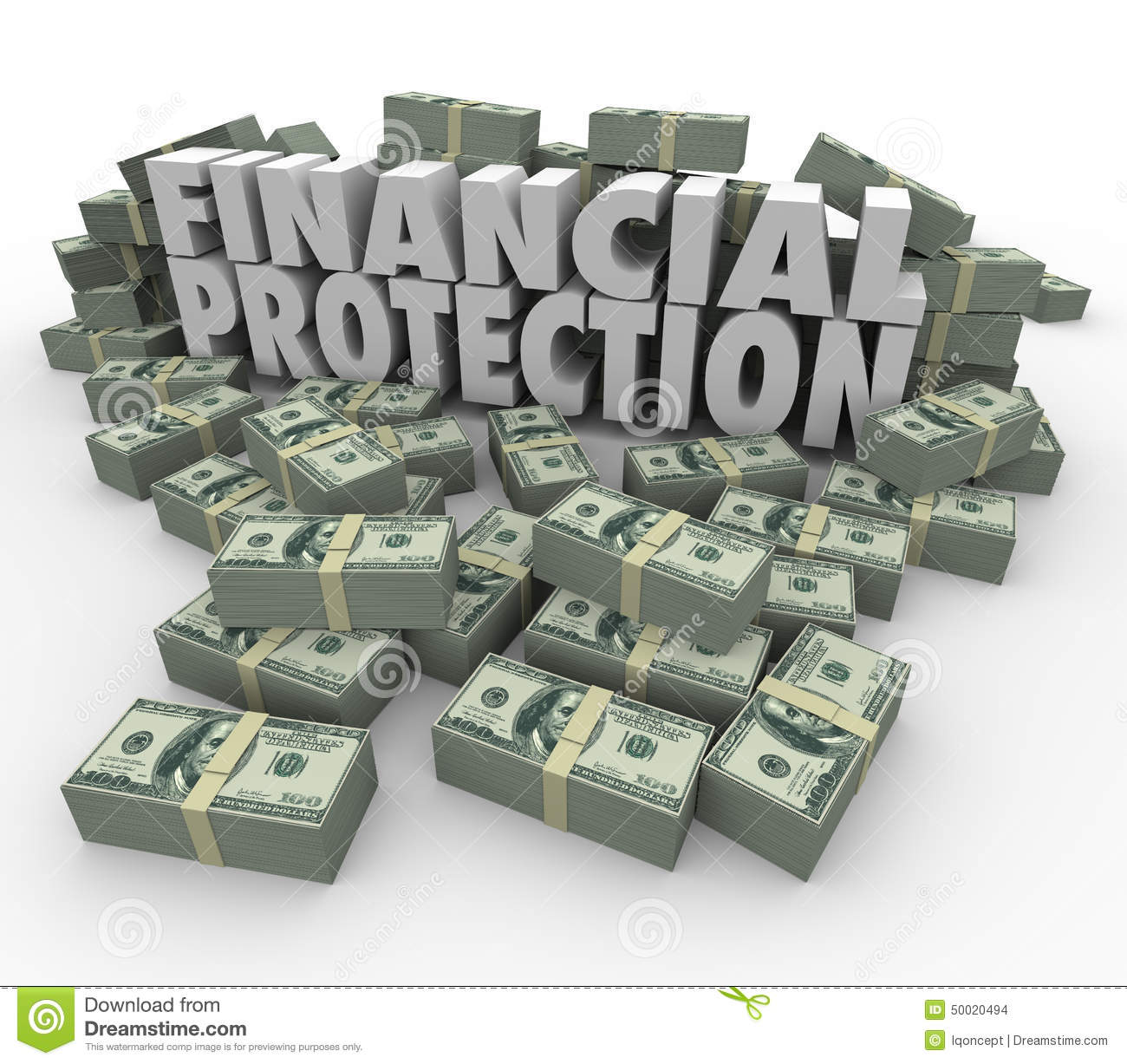 Financial Protection Safe Secure Money Investment Account