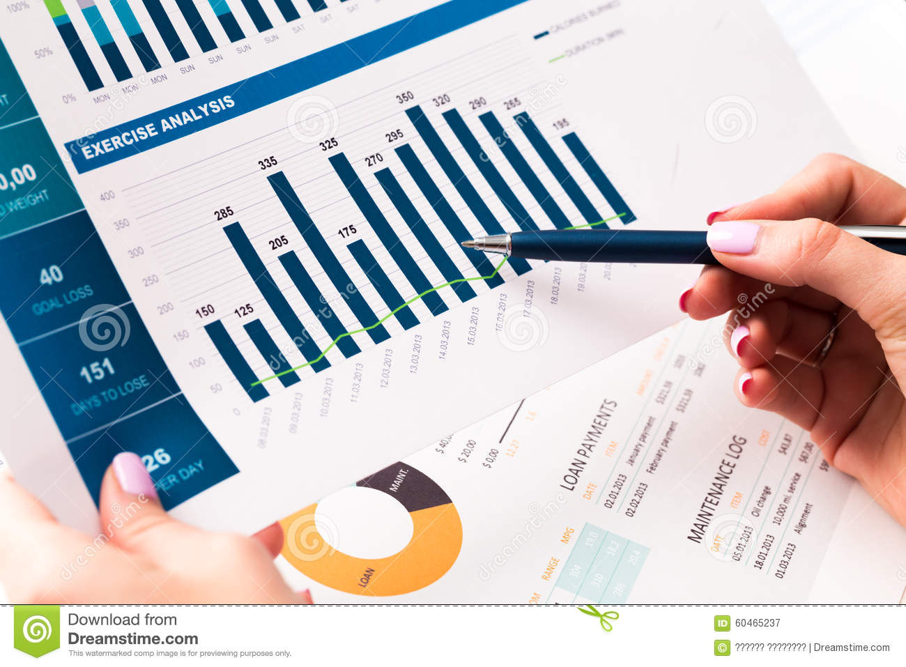 business reports clipart