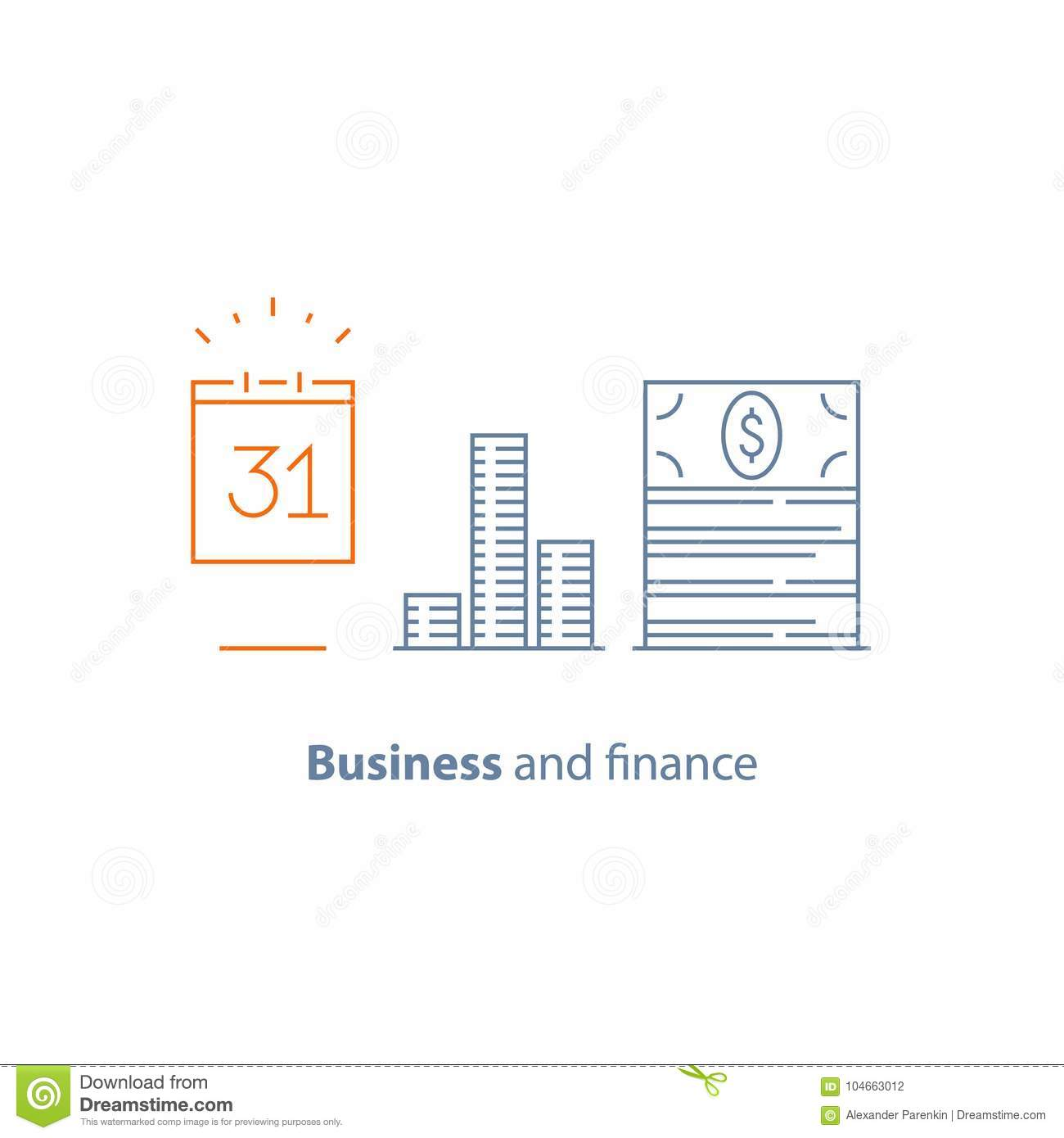 Financial Strategy, Income Increase, Return On Investment, Fund ...