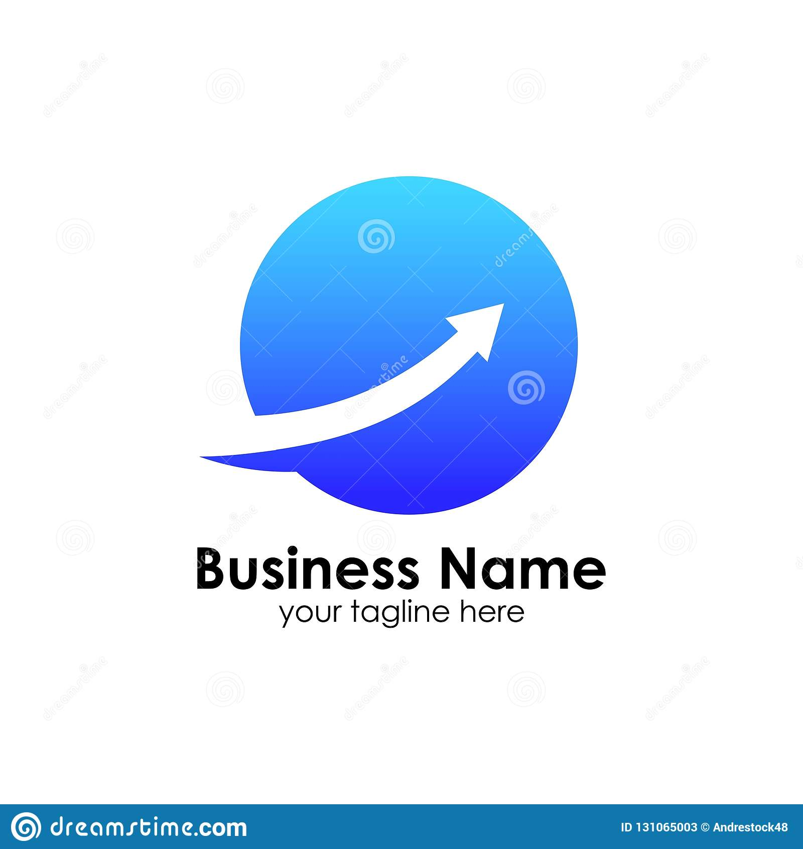 Finans Logo Template Redovisningslogomall kartlägger symbolen