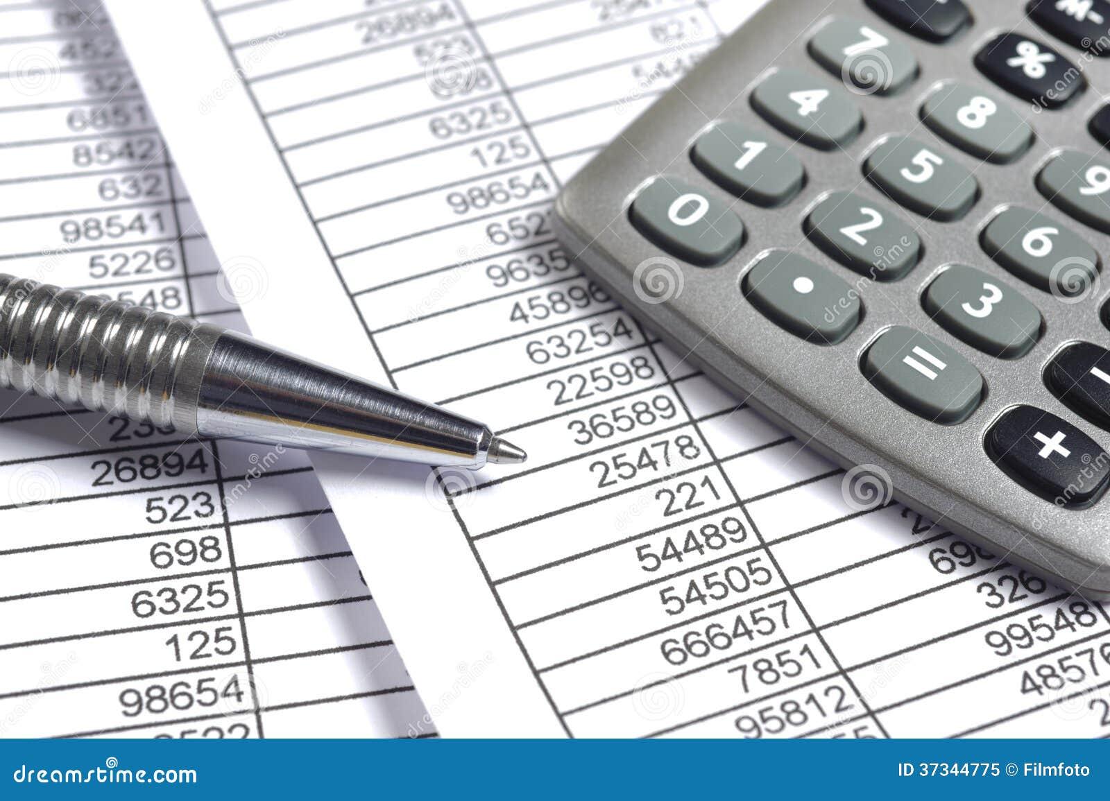 Finansaffärsberäkning