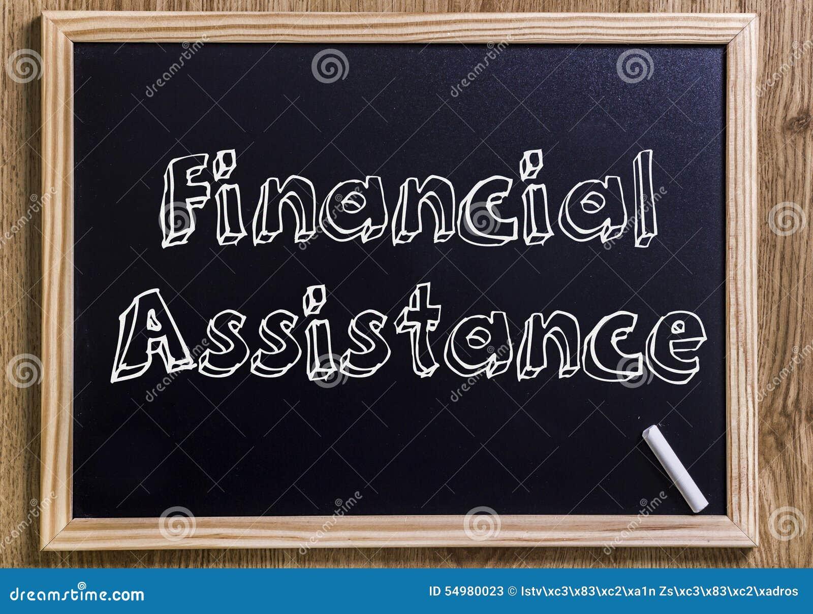 Finansiell hjälp