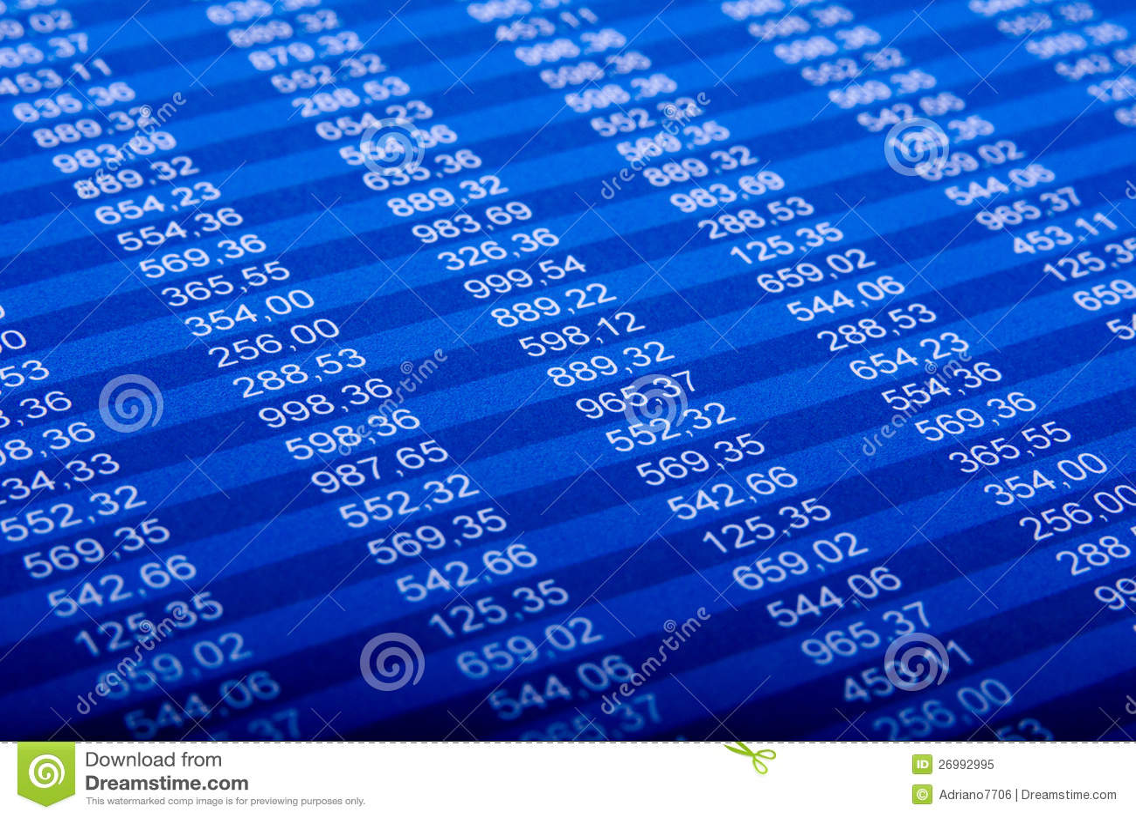 Finansiell rapport