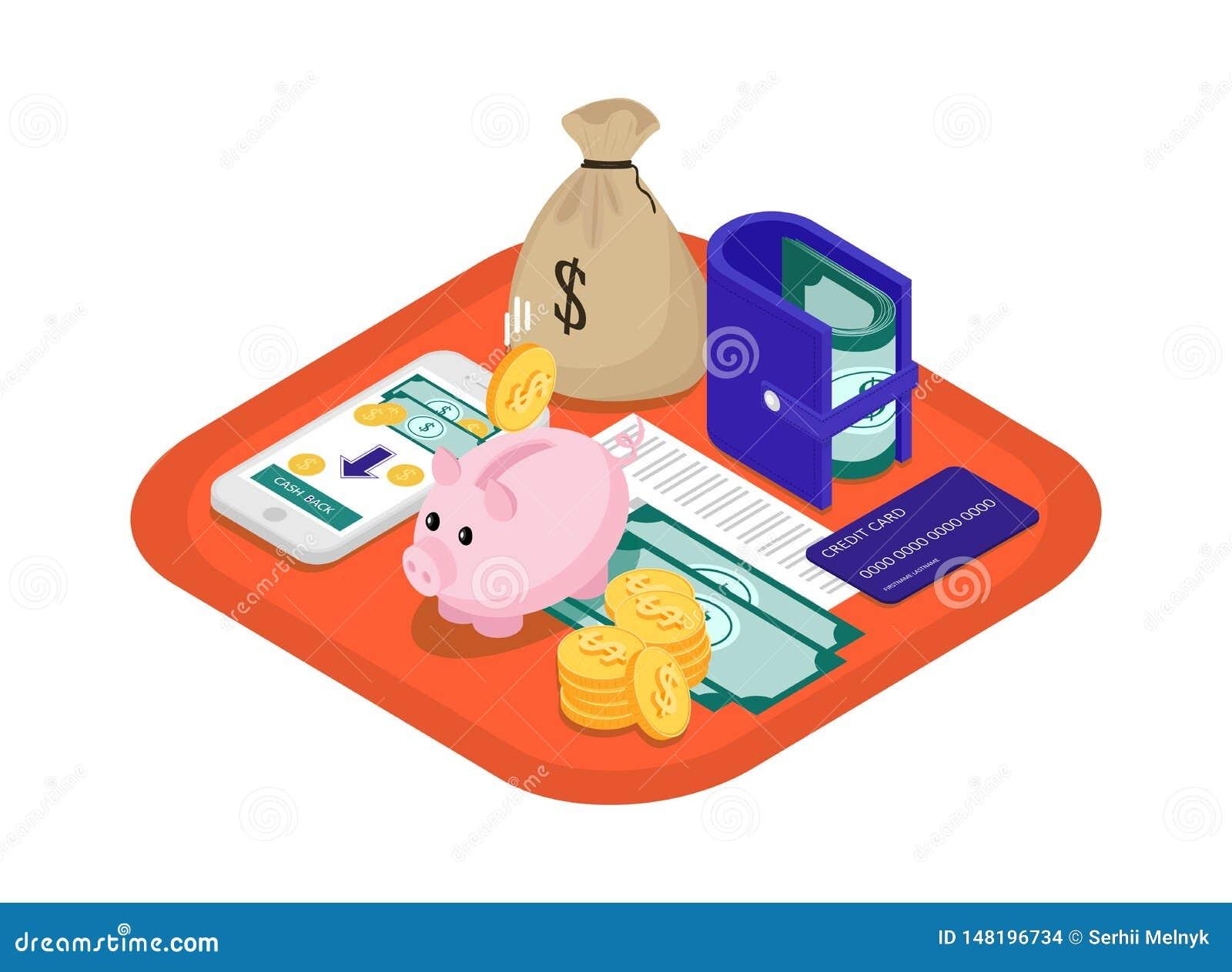 Finansowy pojęcie isometric