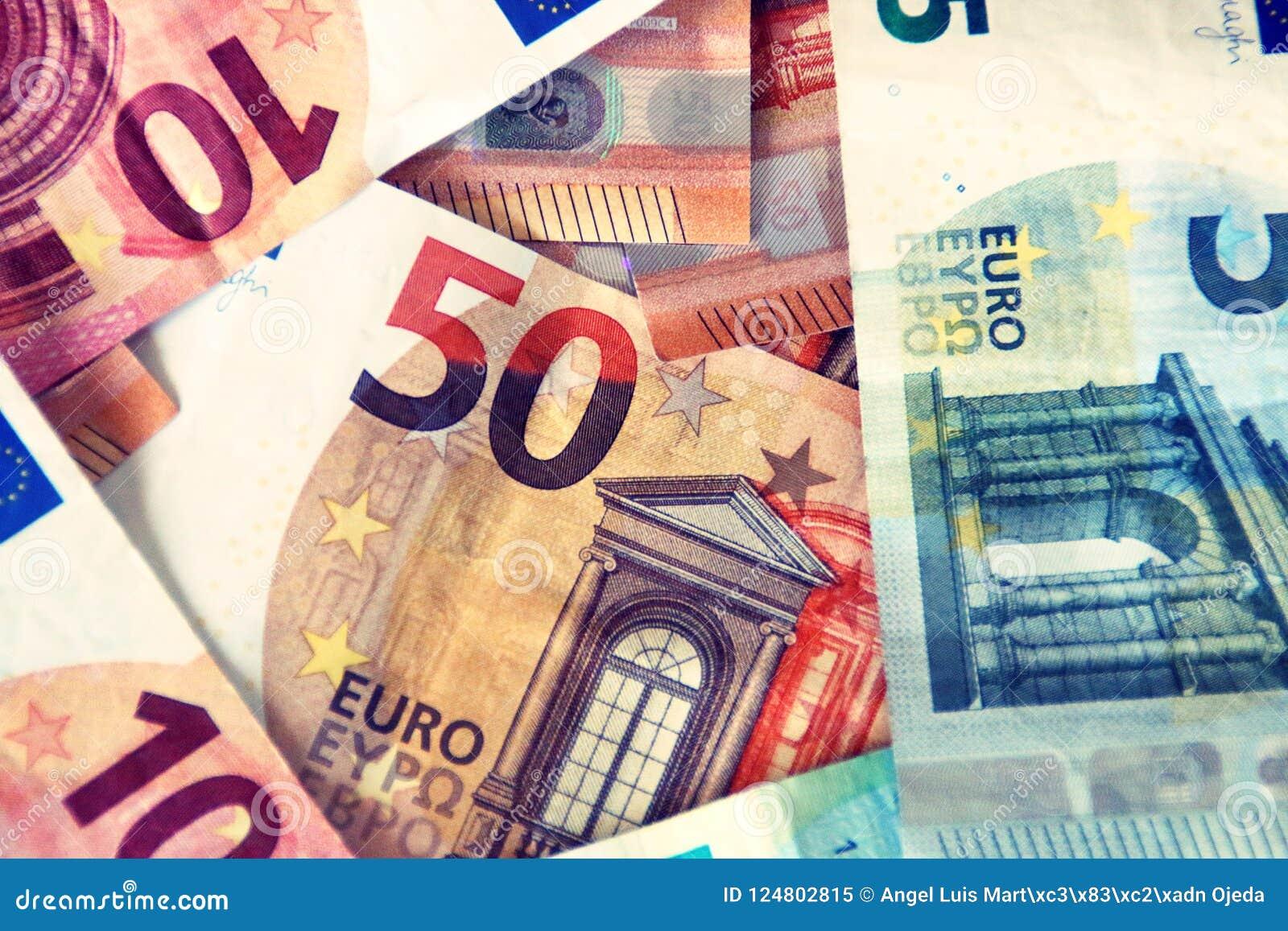 Finanzas, cuentas/notas de euros