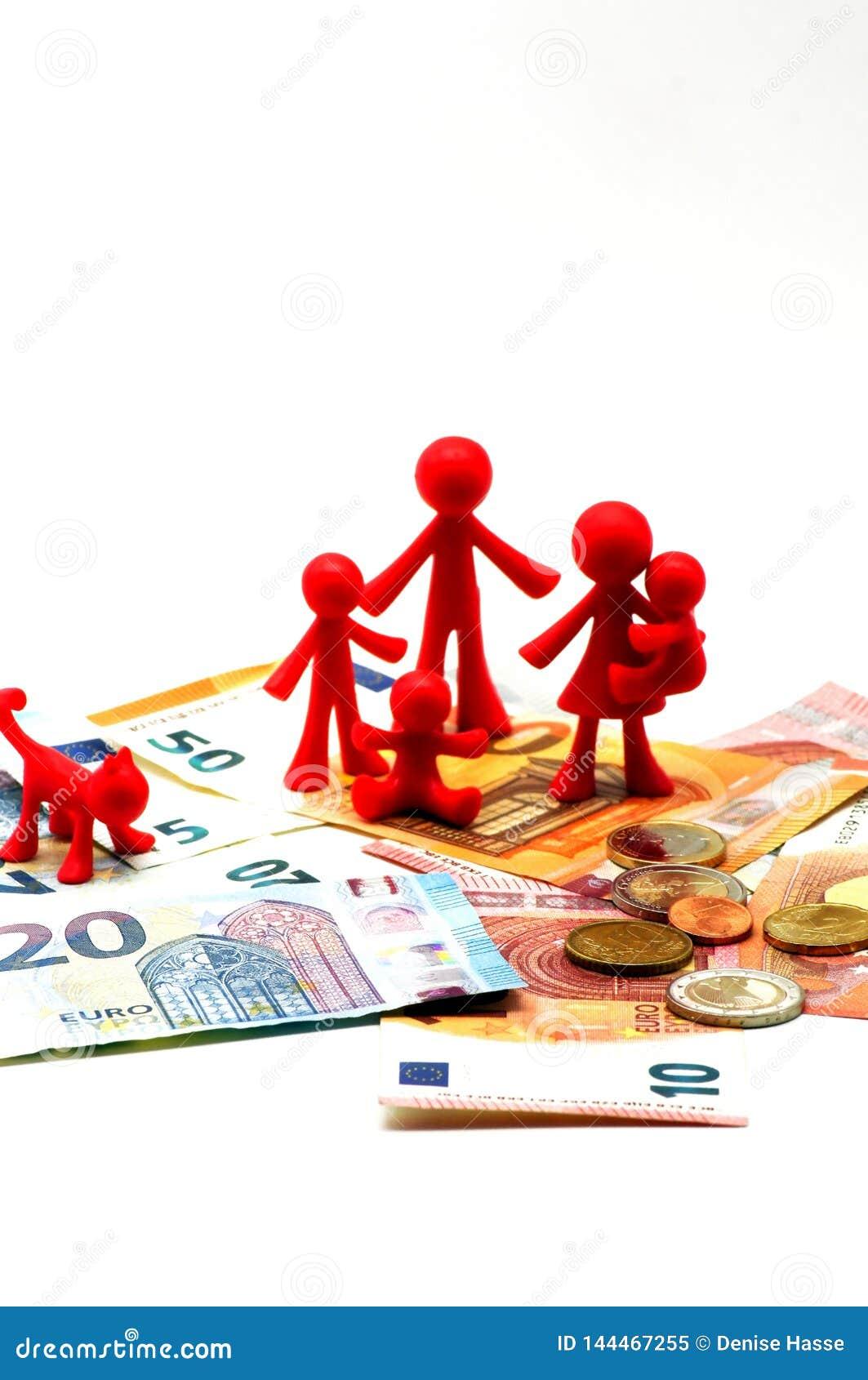 Finazile inkomst i familjen