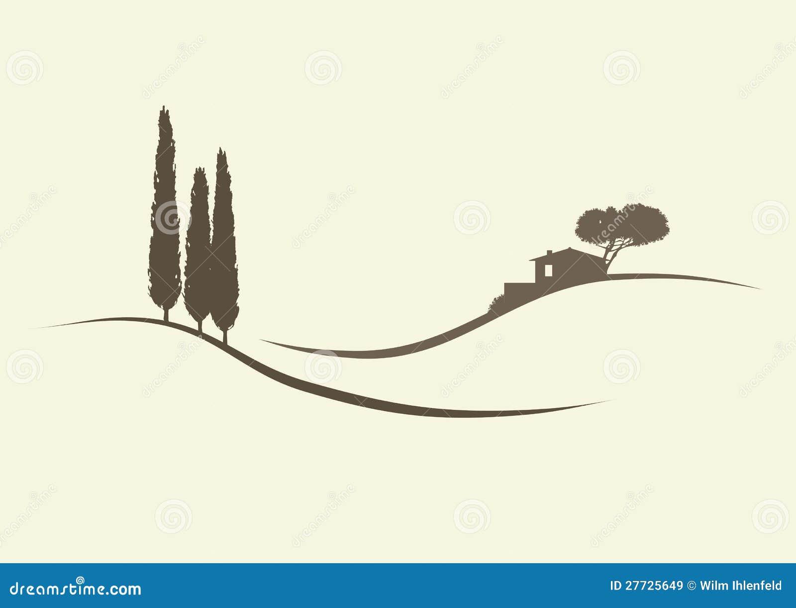 Finca和柏树