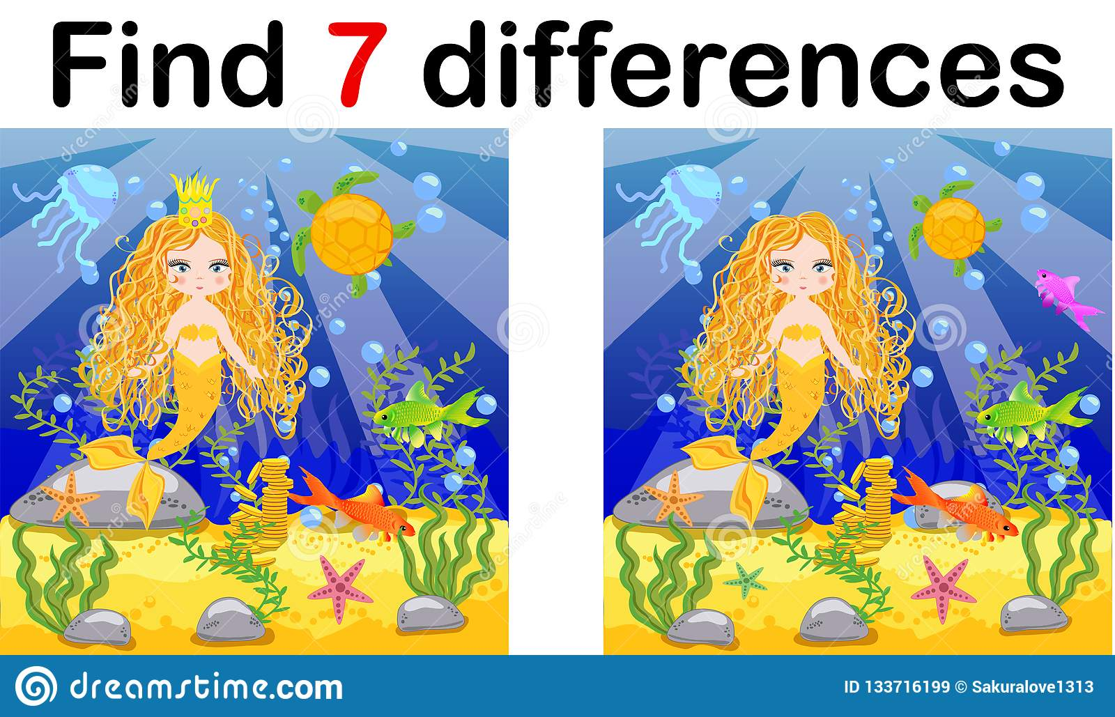 Mermaid Cartoon Stock Images - Download 88 Royalty Free Photos