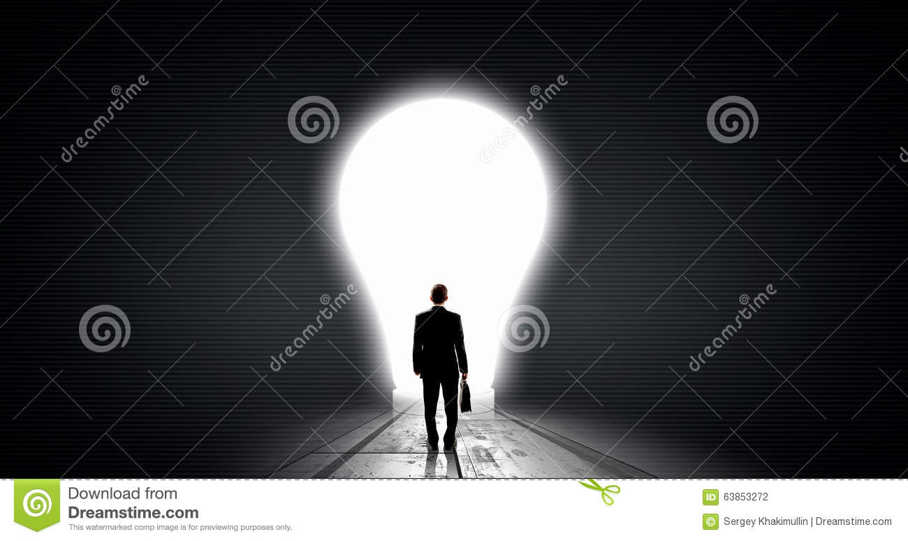 Find great bright idea stock photo. Image of hang, back