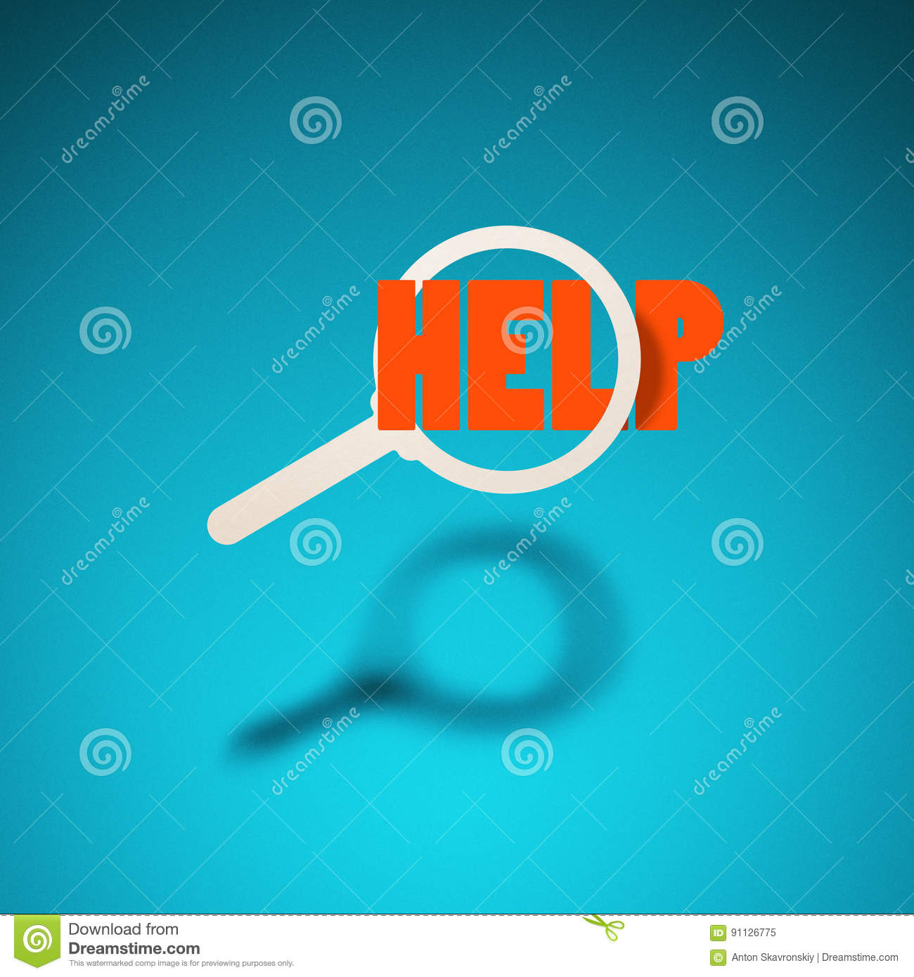 Pleasings Messages: Find Help Stock Illustration. Image Of Emergency, Help