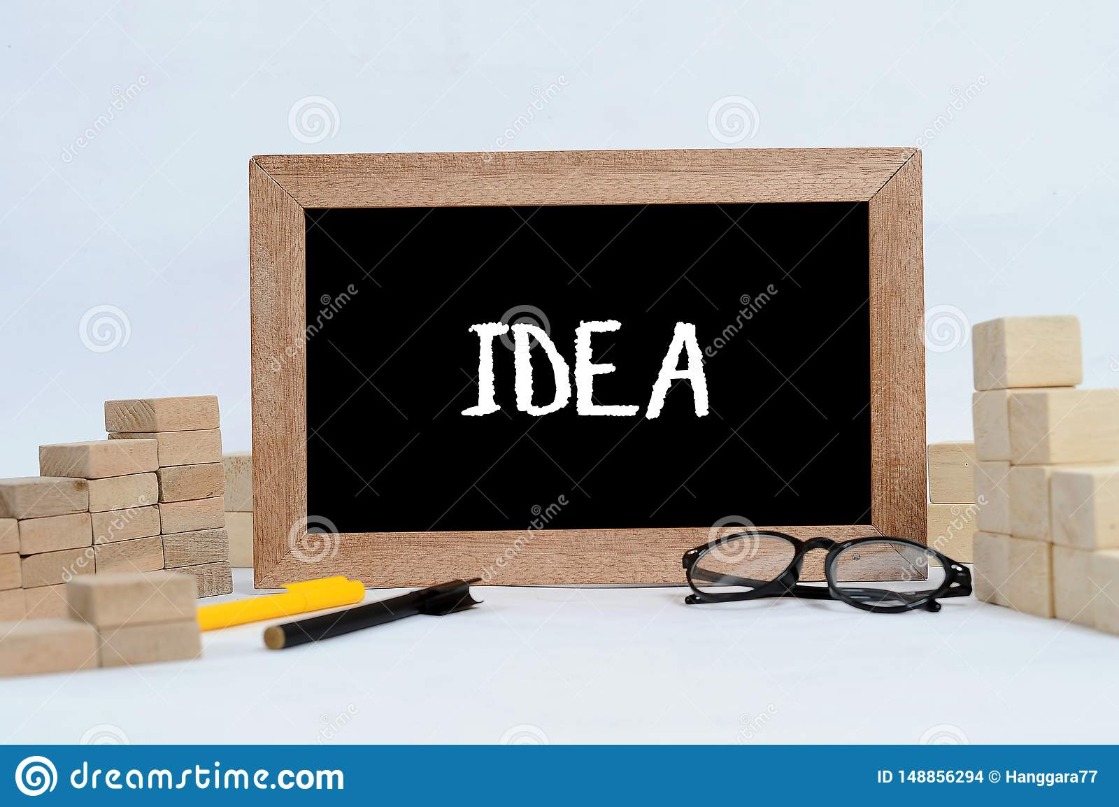 Find IDEA for business concept or business strategy to get best goal on good vision and mission in business target. IDEA text on