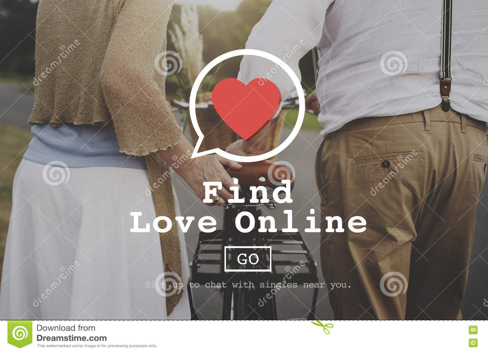 Online dating romantic