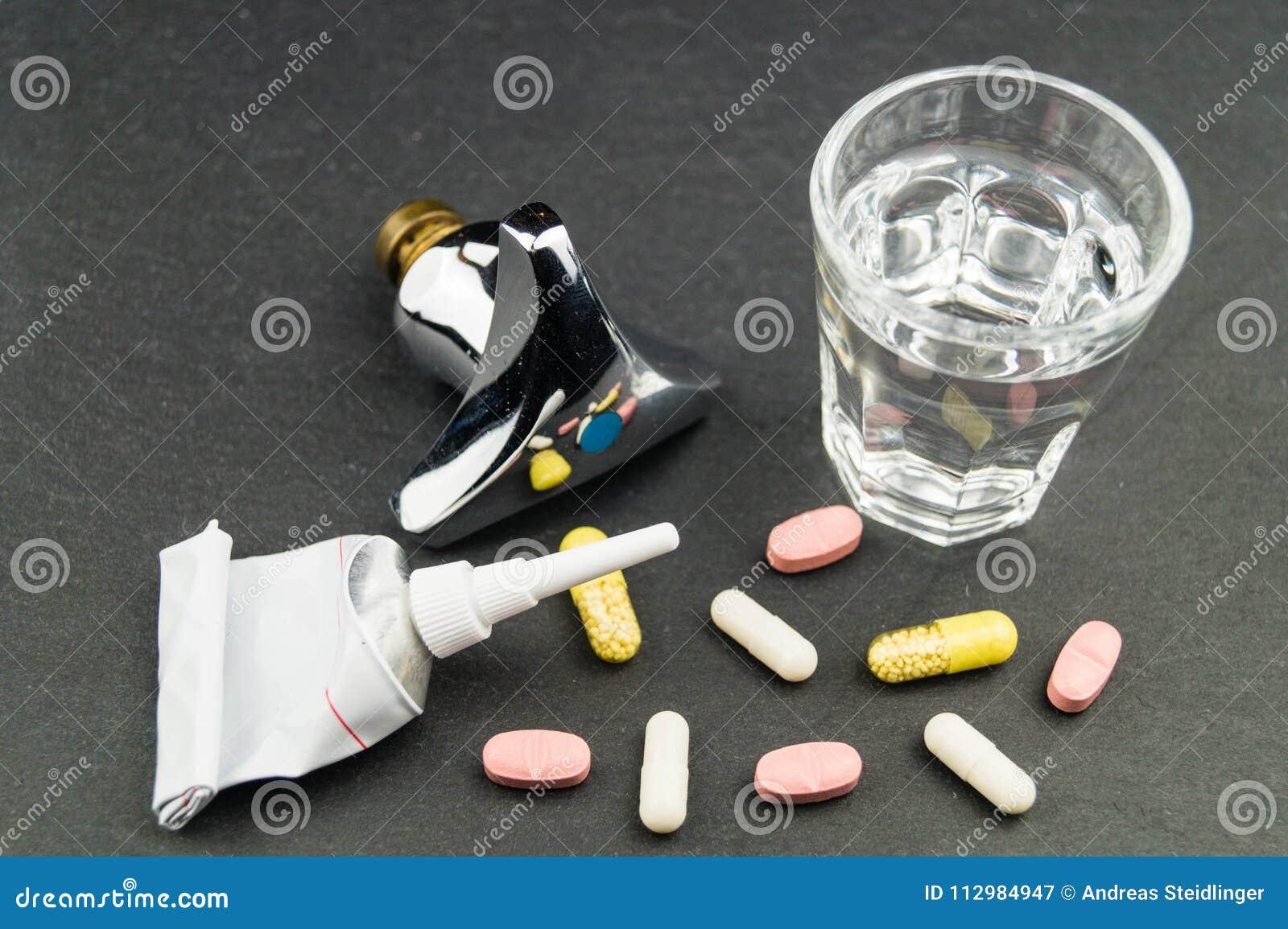 Drug residues in drinking water