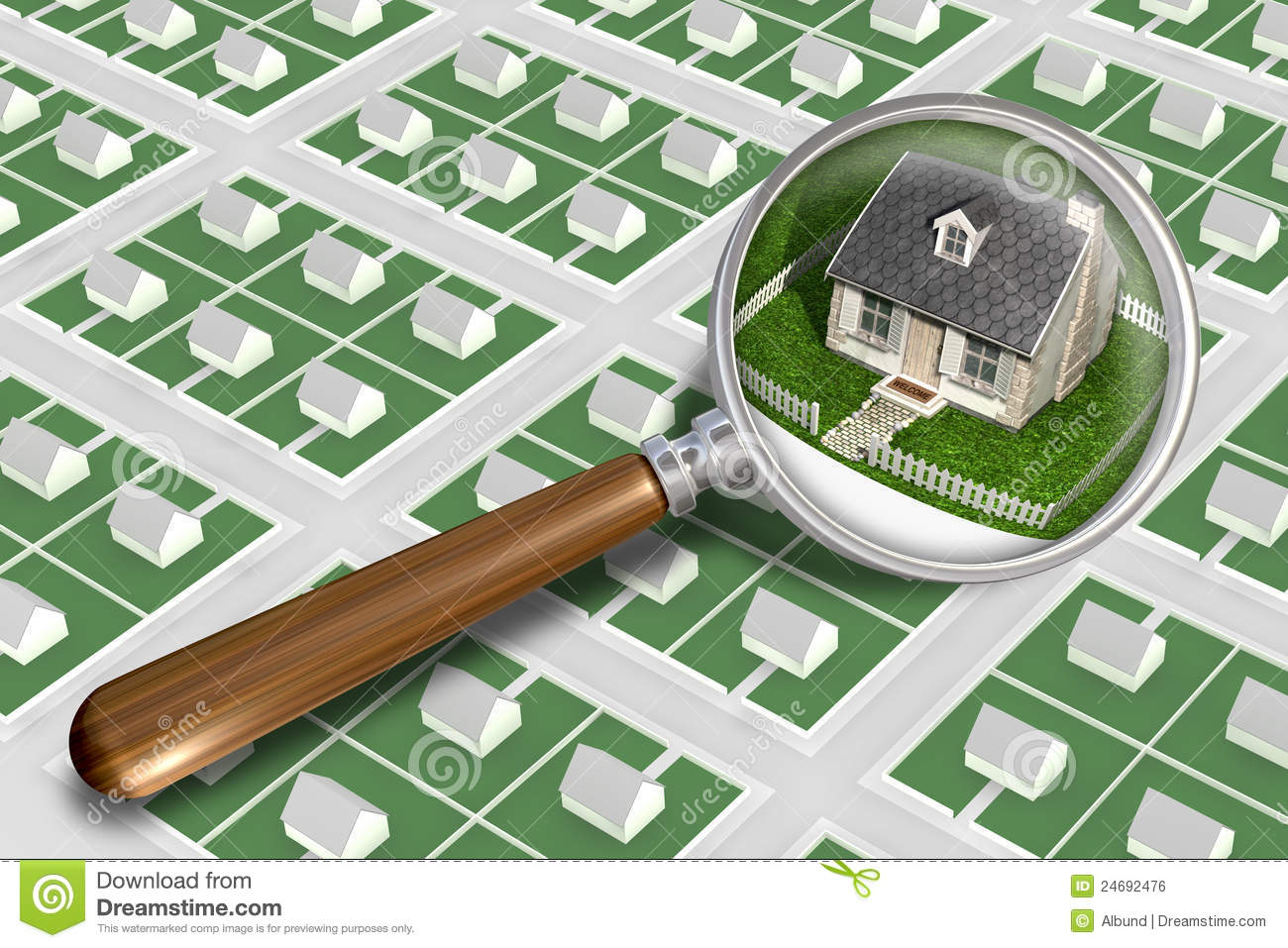 Find the perfect house royalty free stock image image for Find the perfect home