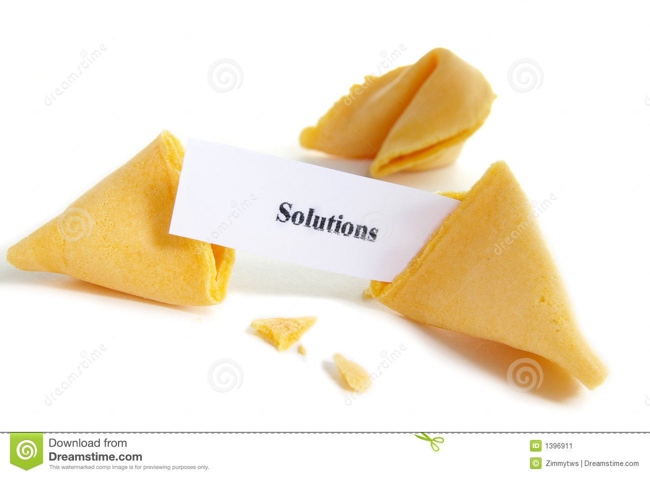 find solutions stock image image 1396911 Blank Fortune Cookie Fortune Cookie Cartoon