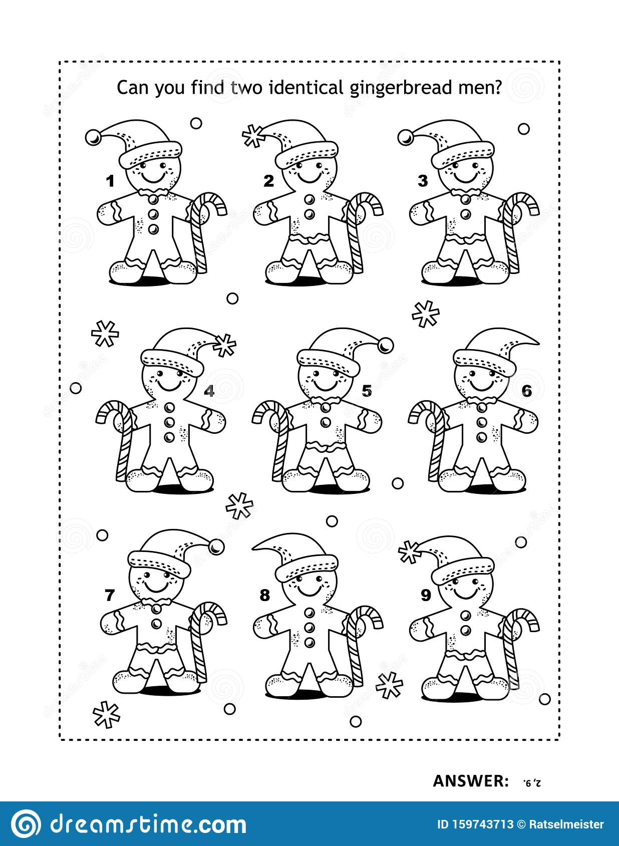 Gingerbread Man Coloring Page - Coloring Home | 1689x1236