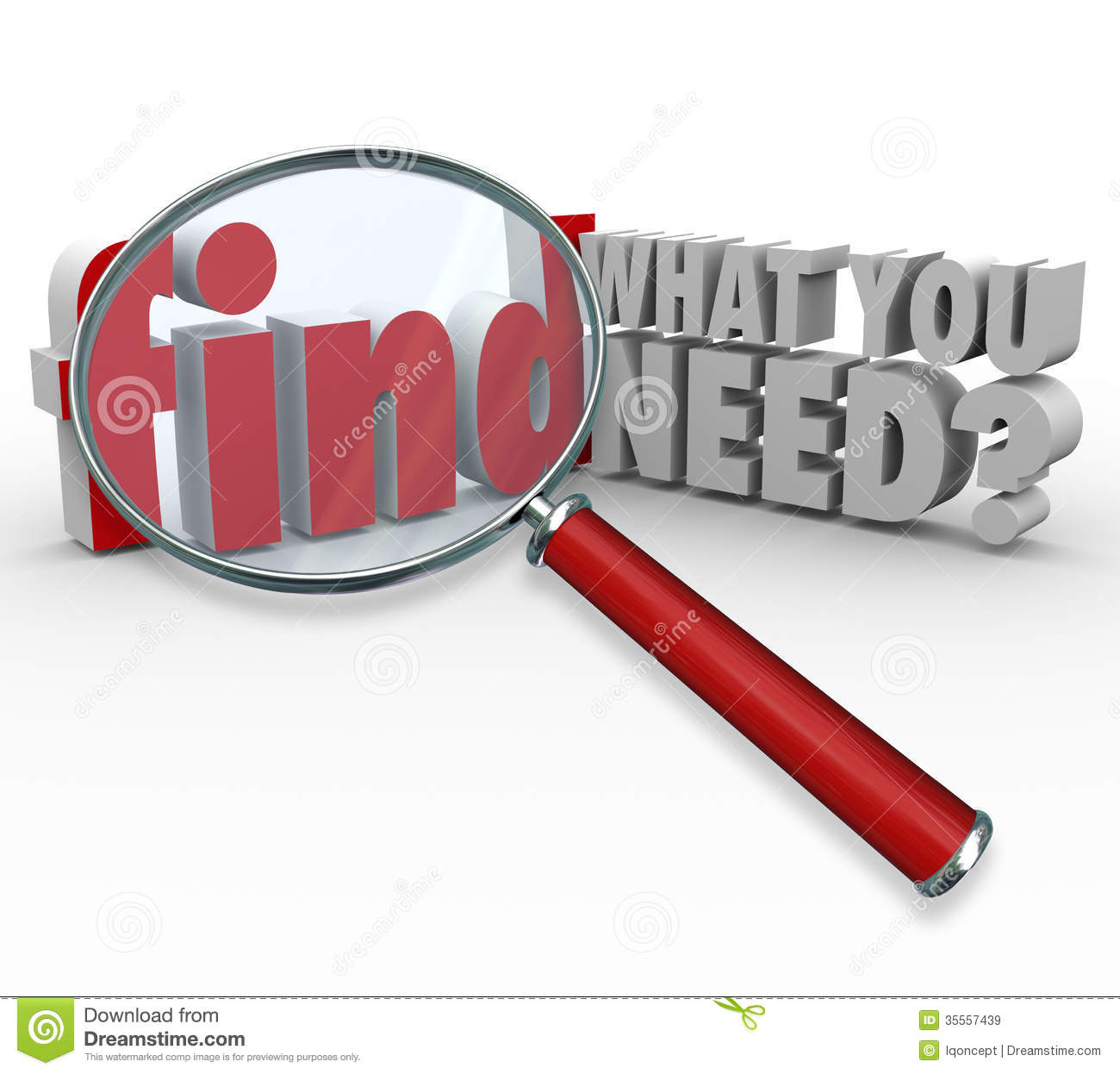 Find: Find What You Need Magnifying Glass Searching For