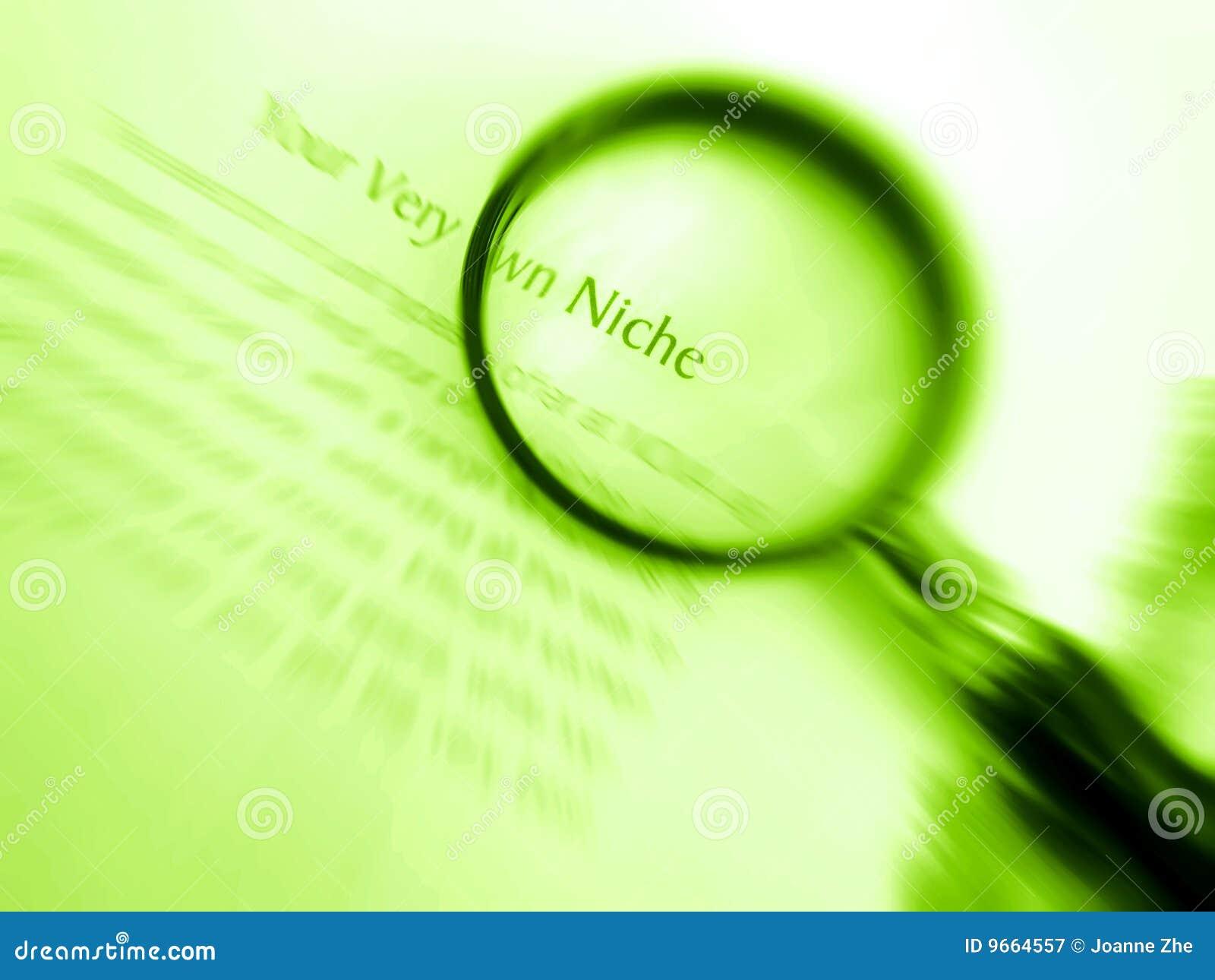 Find your own niche