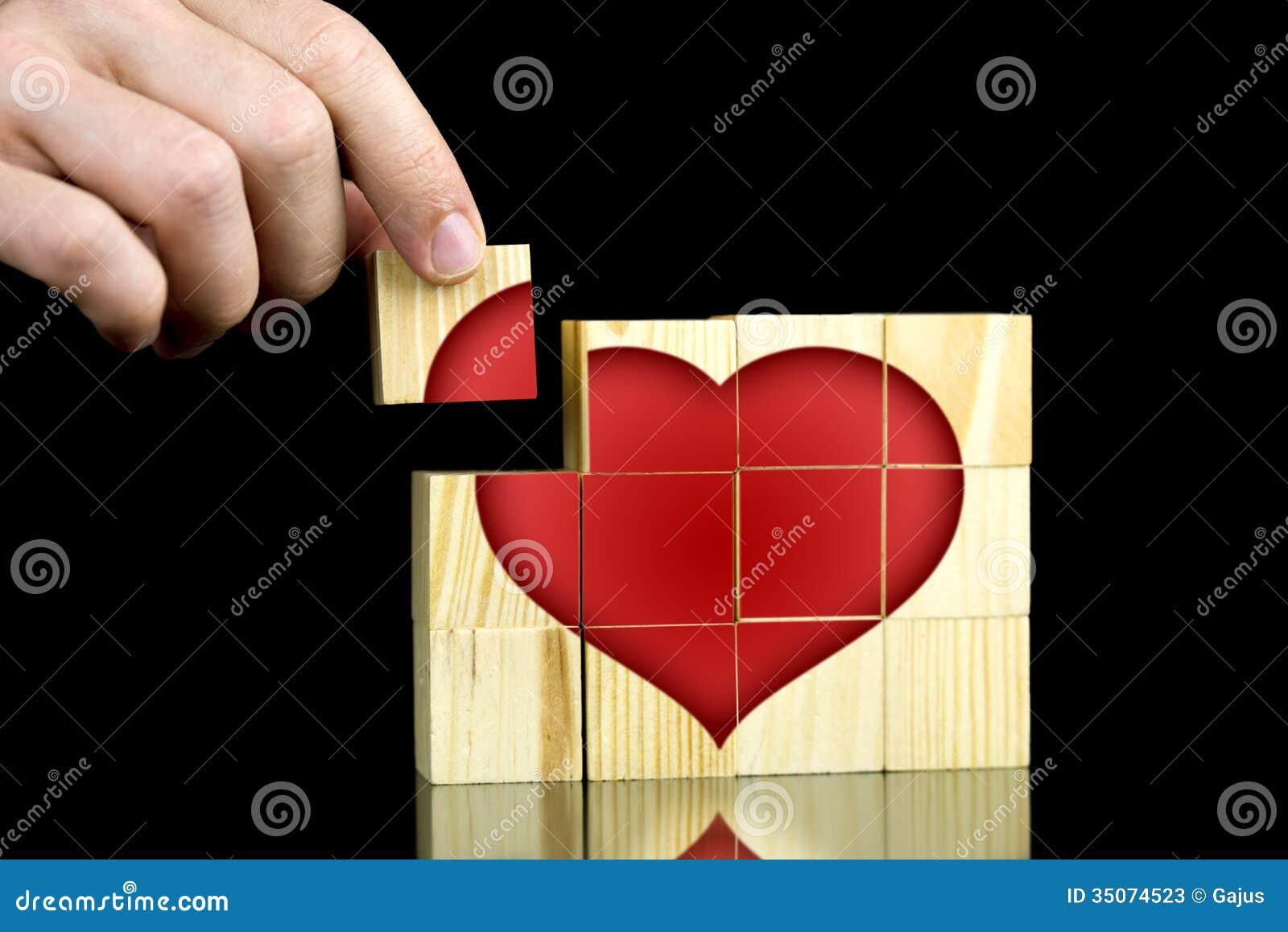 Finden von Liebe