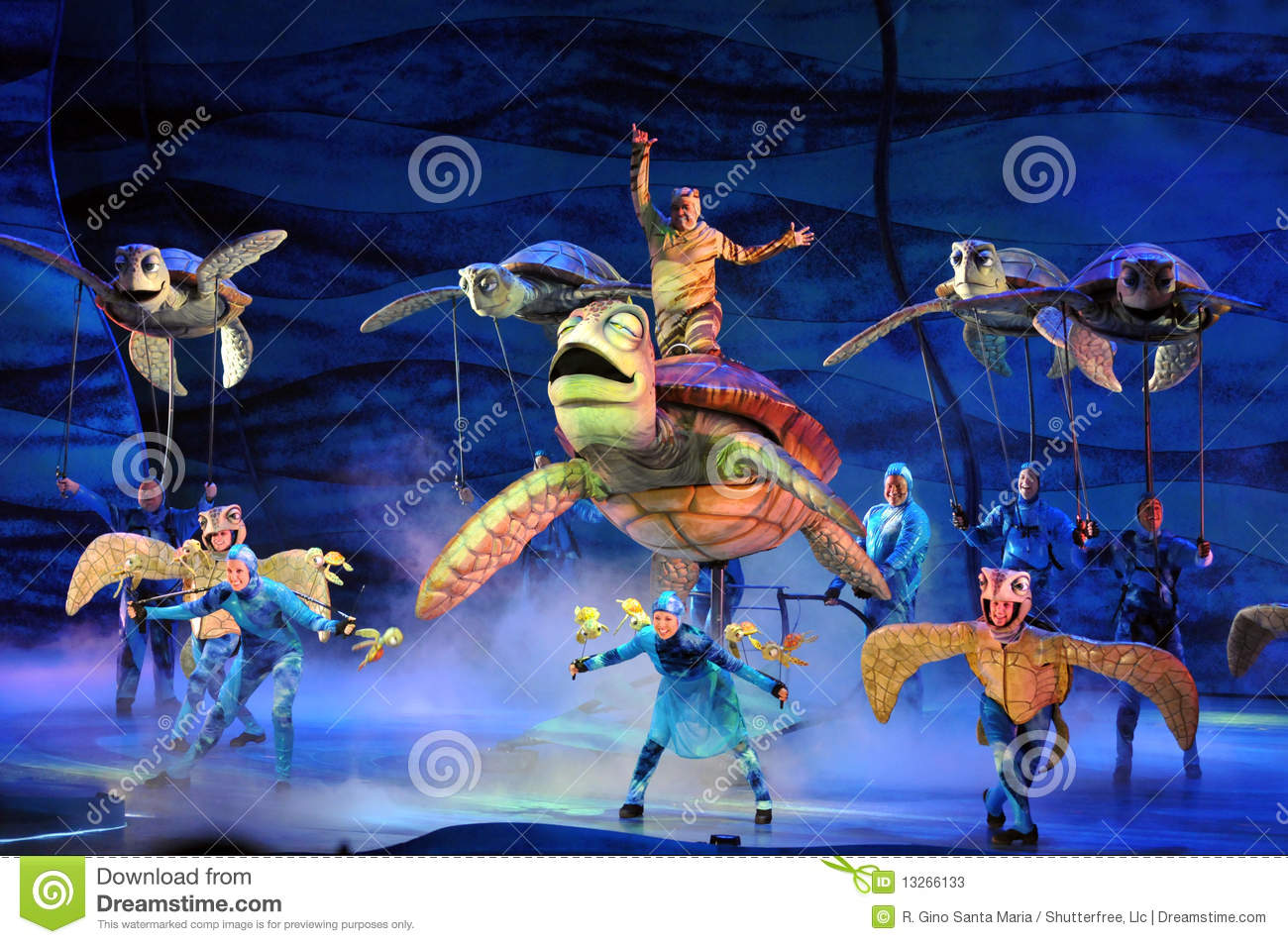 finding nemo into the world An all-new stage musical based on the disney-pixar academy award-winning animated film finding nemo that takes guests into the magical ocean world with larger-than-life puppets, plus a cast of 18 musical theater actors and dancers.