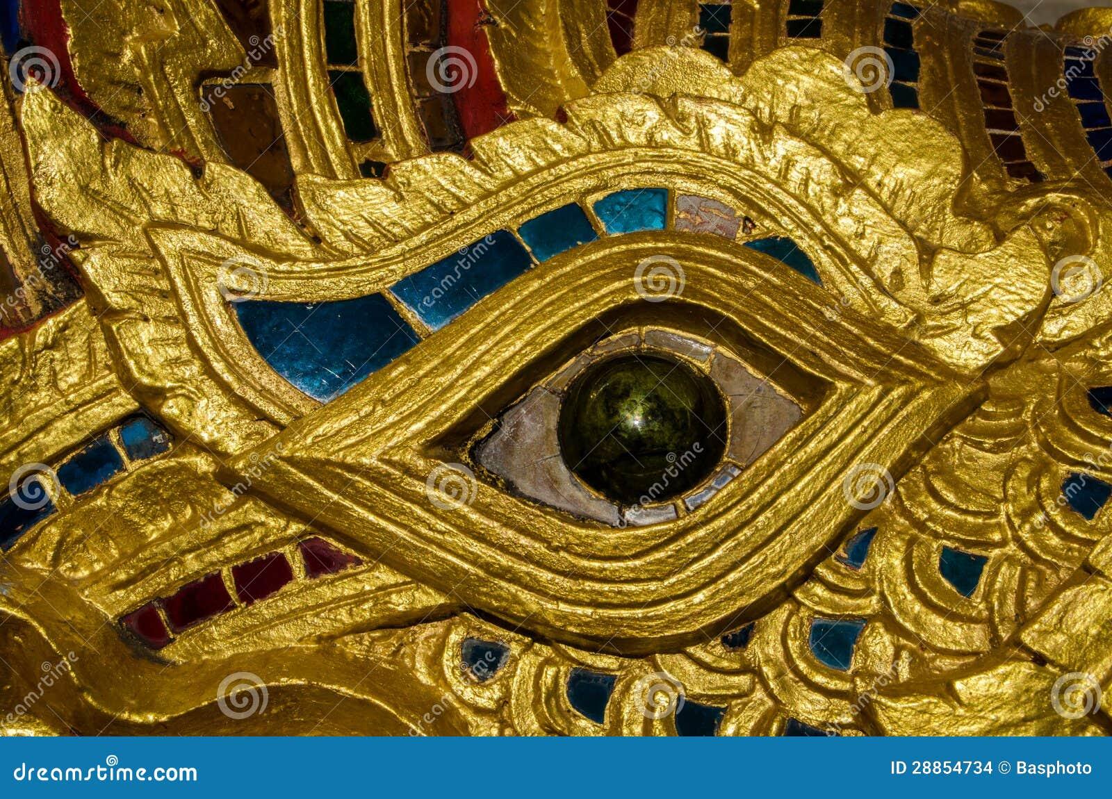 Fine dell occhio del Naga su