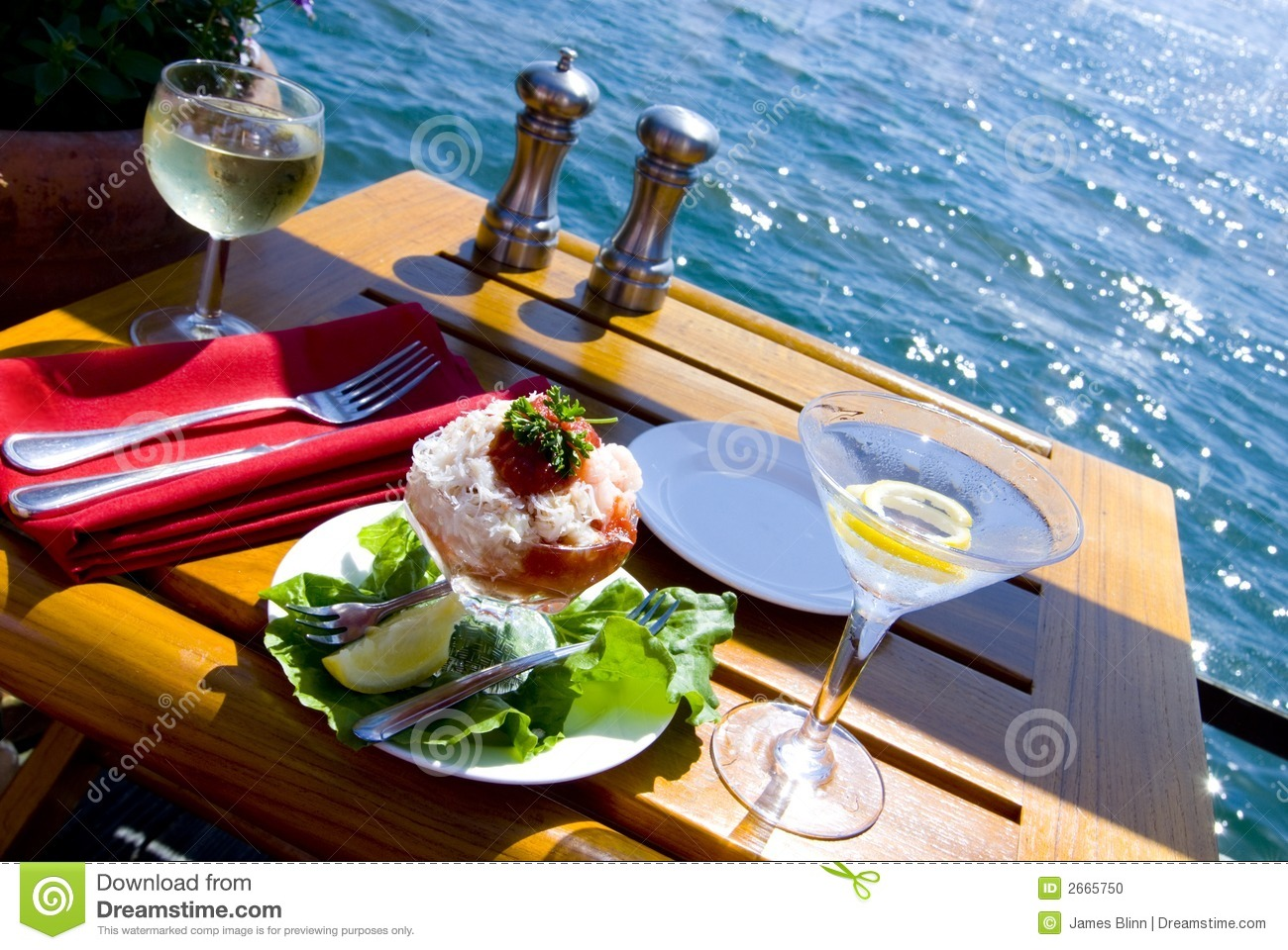 Fine Dining on the Bay For Two