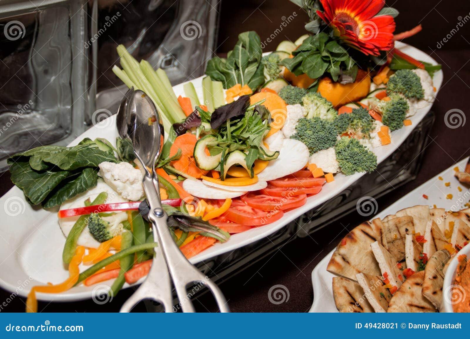 Fine Dining Restaurant Dinner Salad Buffet Stock Photo Image 49428021